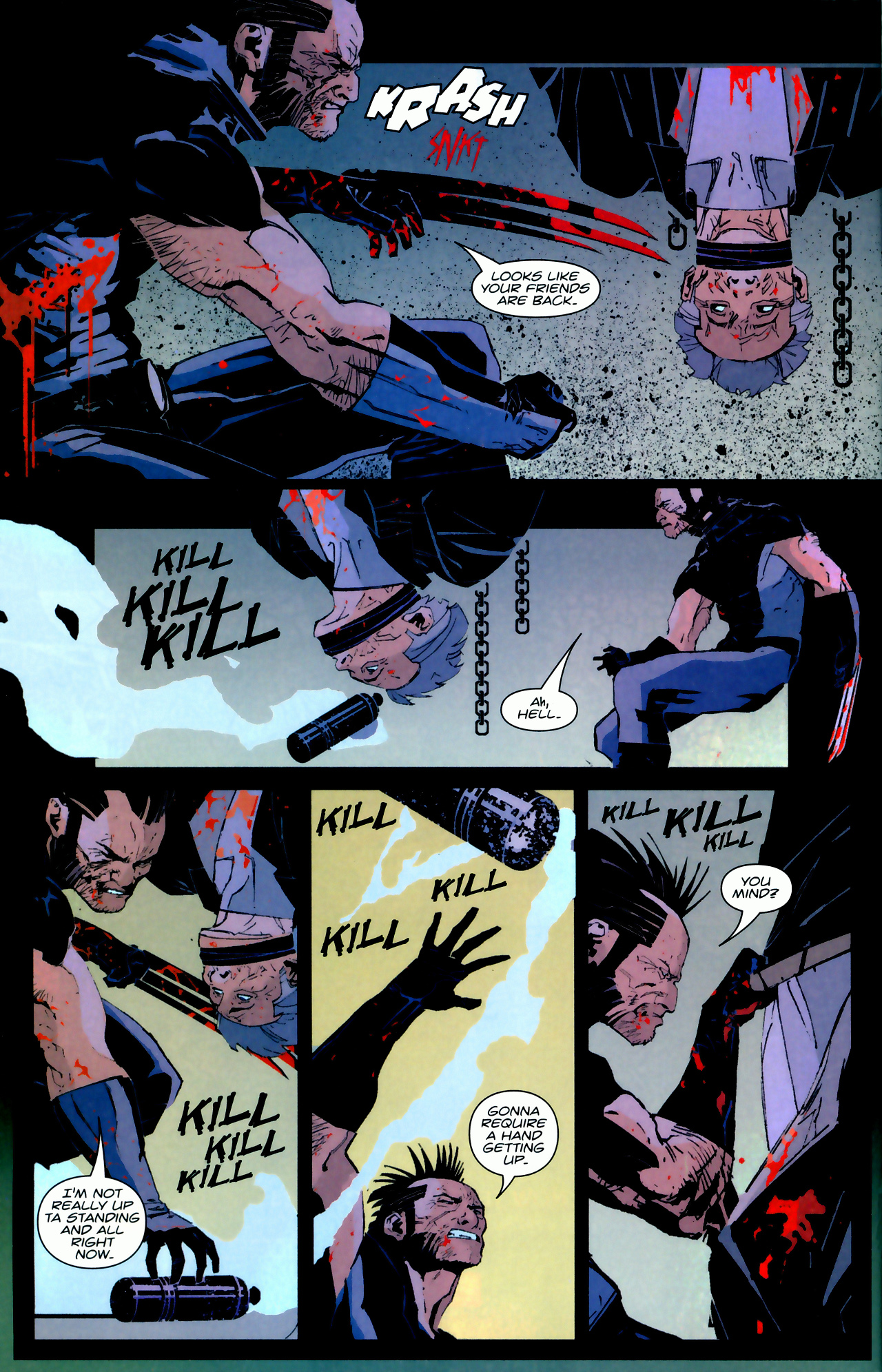 Read online X-Force Special: Ain't No Dog comic -  Issue # Full - 10