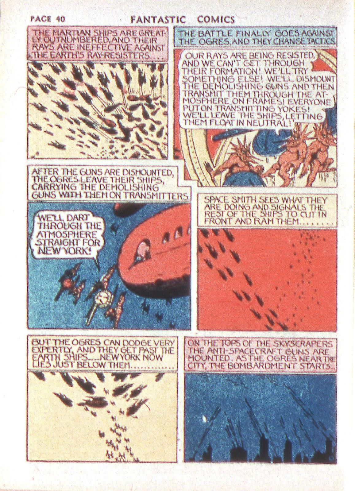 Read online Fantastic Comics comic -  Issue #2 - 41