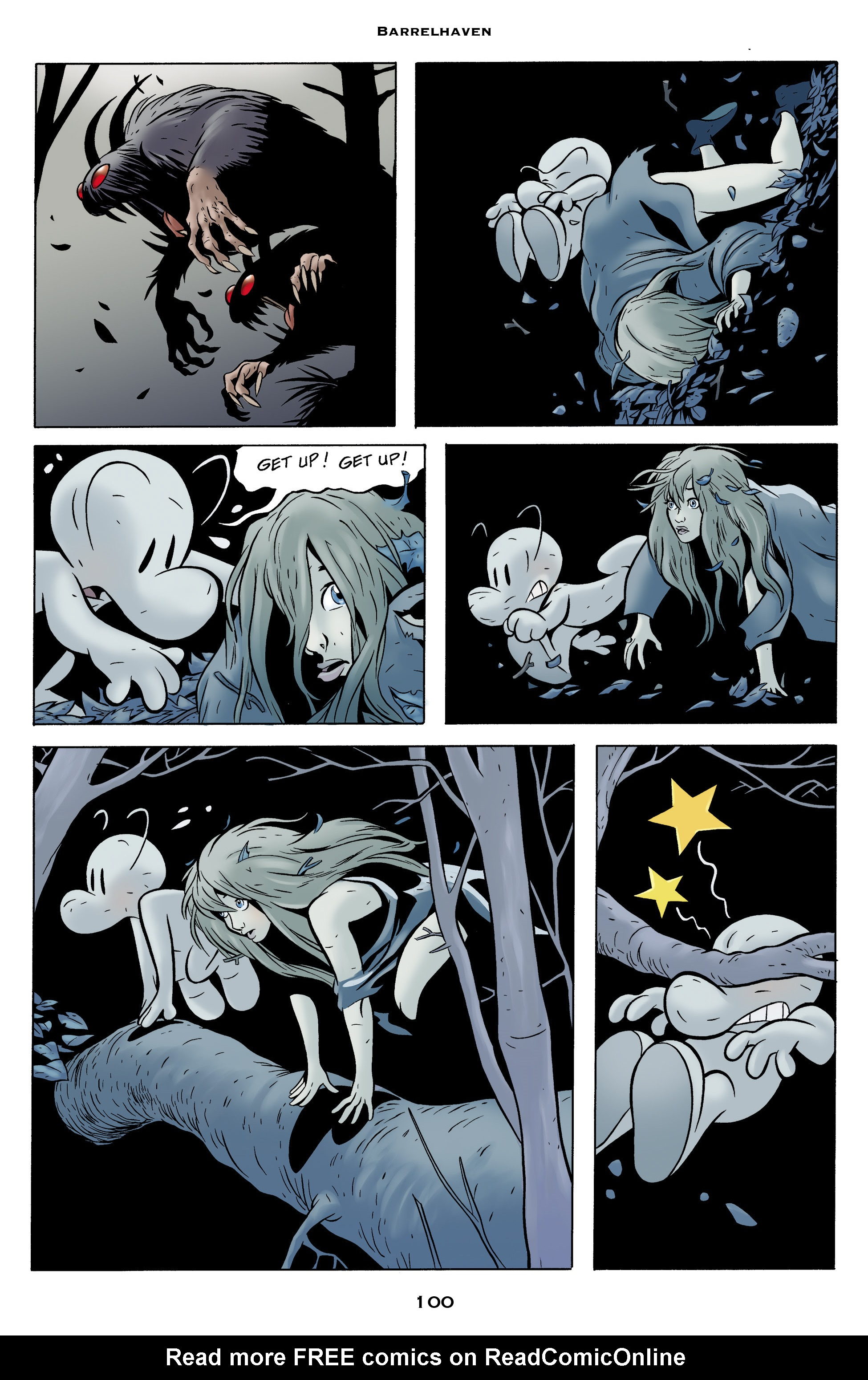 Read online Bone: Out From Boneville comic -  Issue # TPB - 100