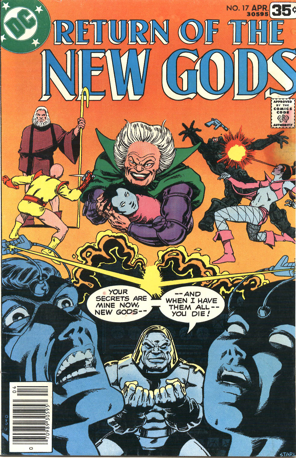New Gods (1977) issue 17 - Page 1