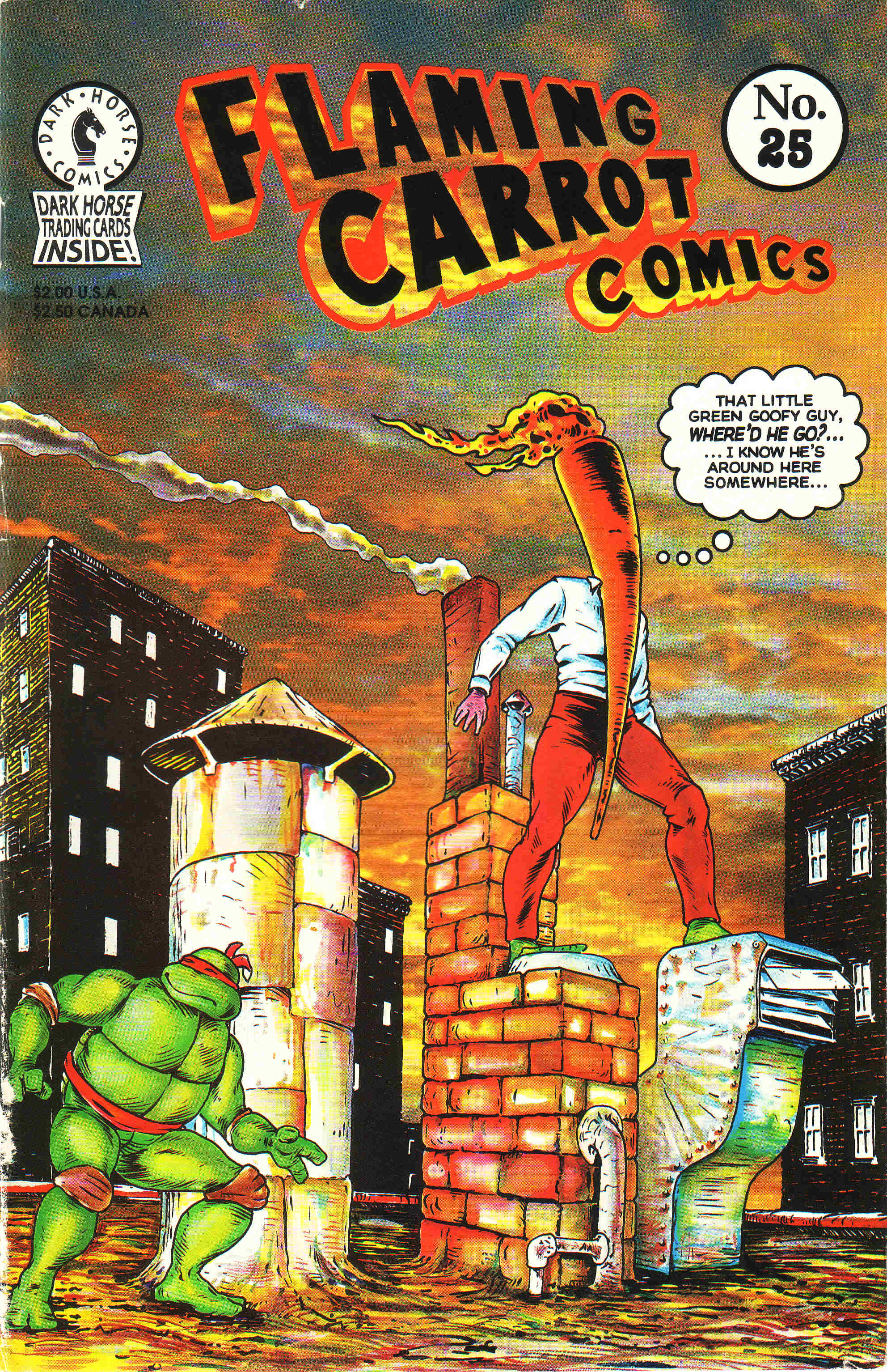 Read online Flaming Carrot Comics (1988) comic -  Issue #25 - 1
