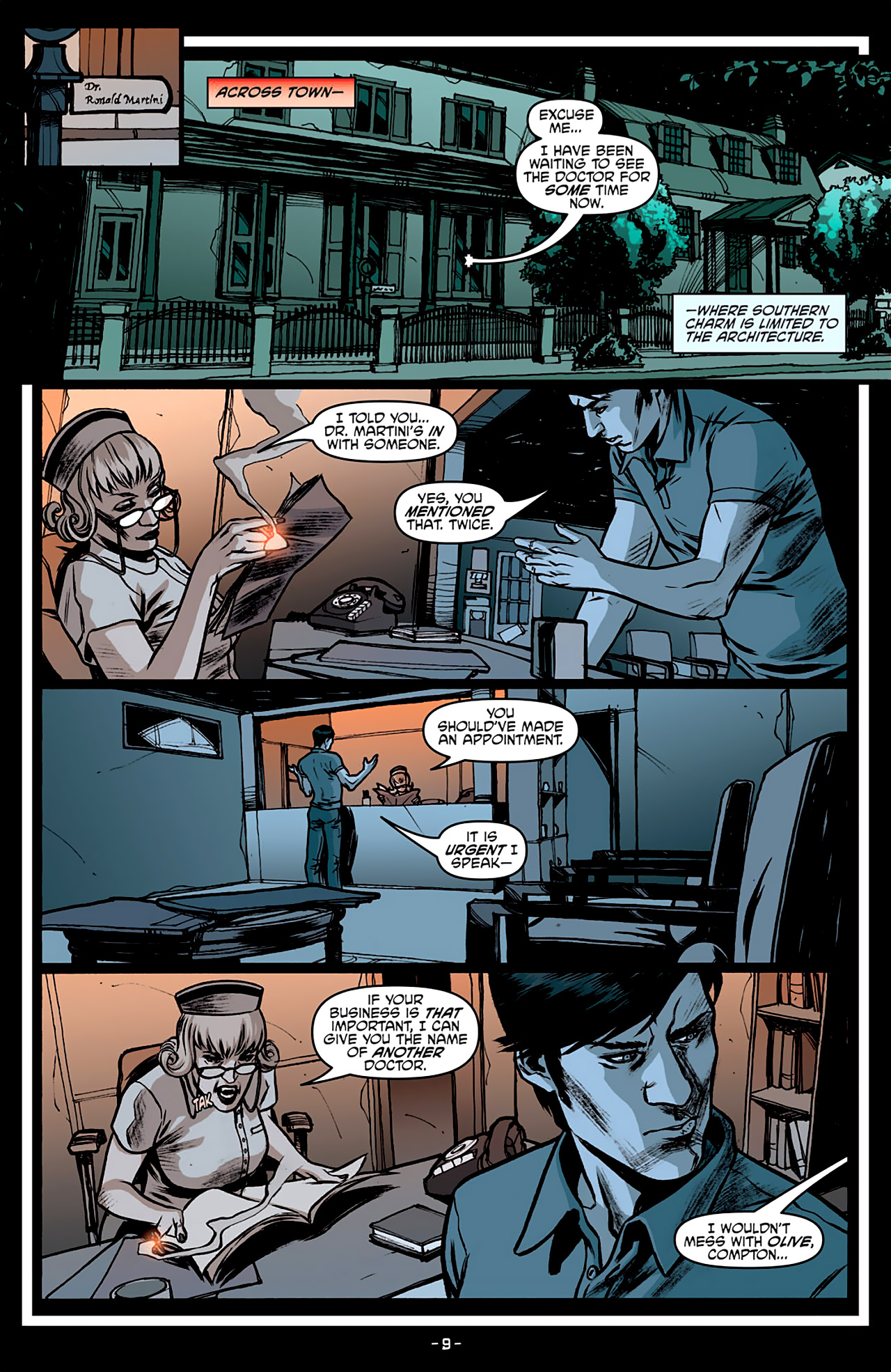 Read online True Blood: French Quarter comic -  Issue #3 - 14