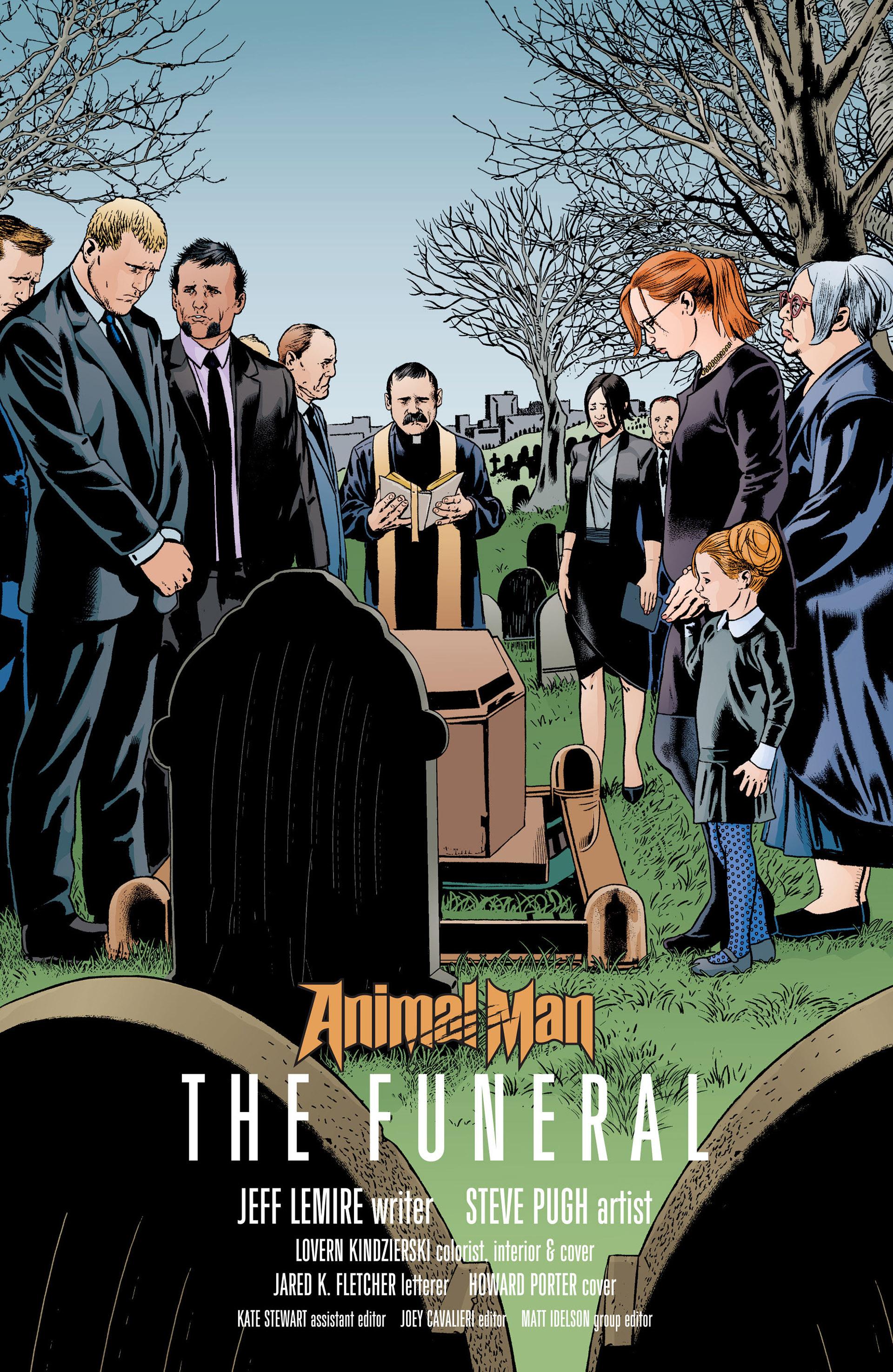 Read online Animal Man (2011) comic -  Issue #19 - 5