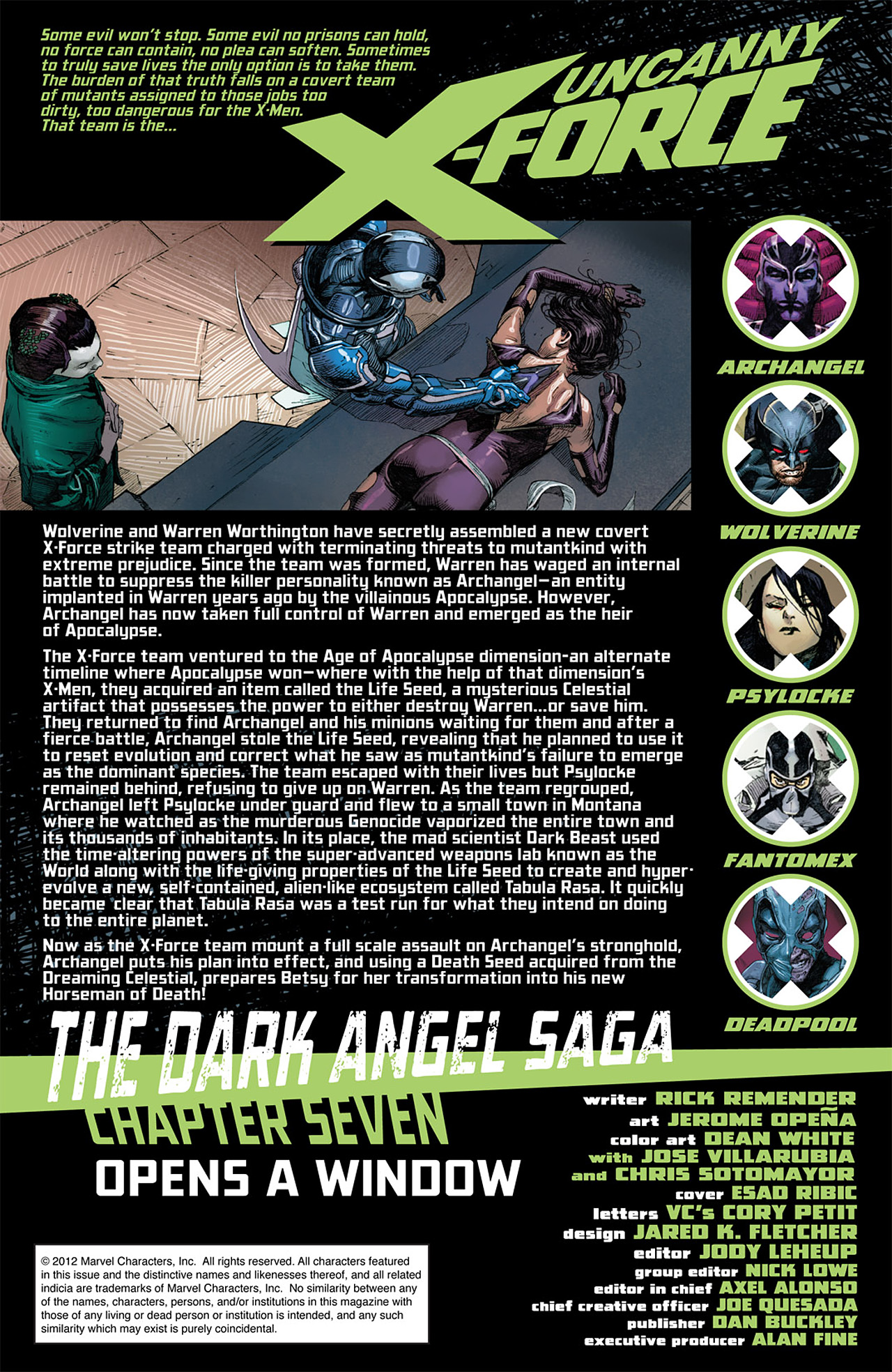 Read online Uncanny X-Force (2010) comic -  Issue #17 - 2