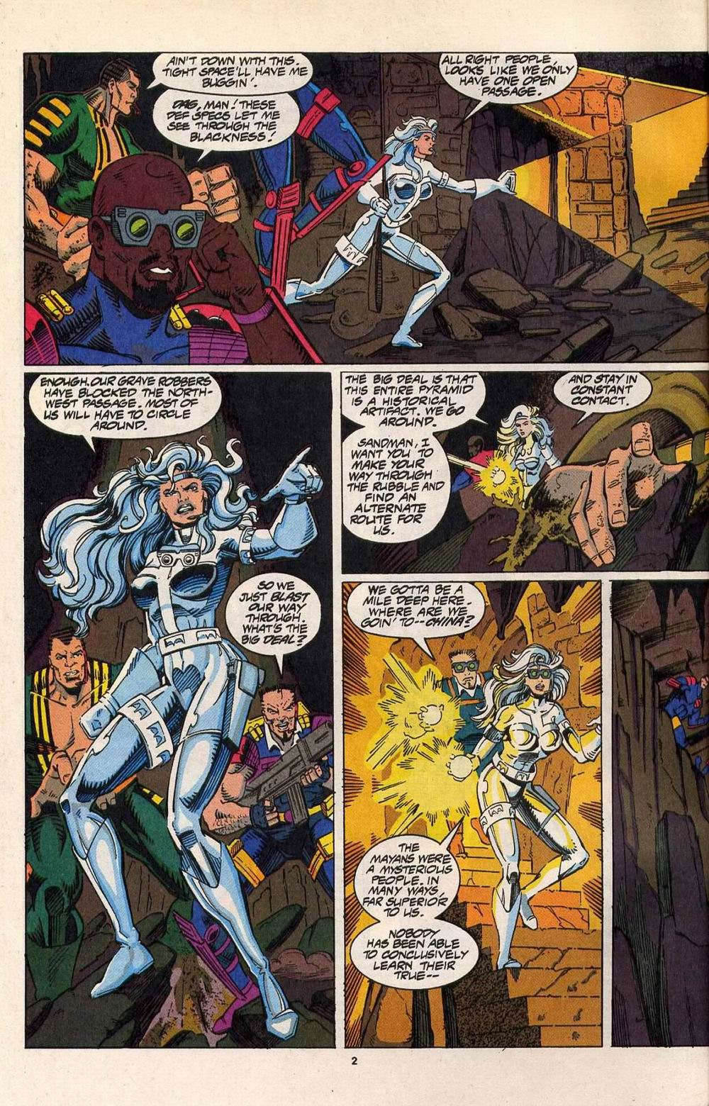 Read online Silver Sable and the Wild Pack comic -  Issue #29 - 3