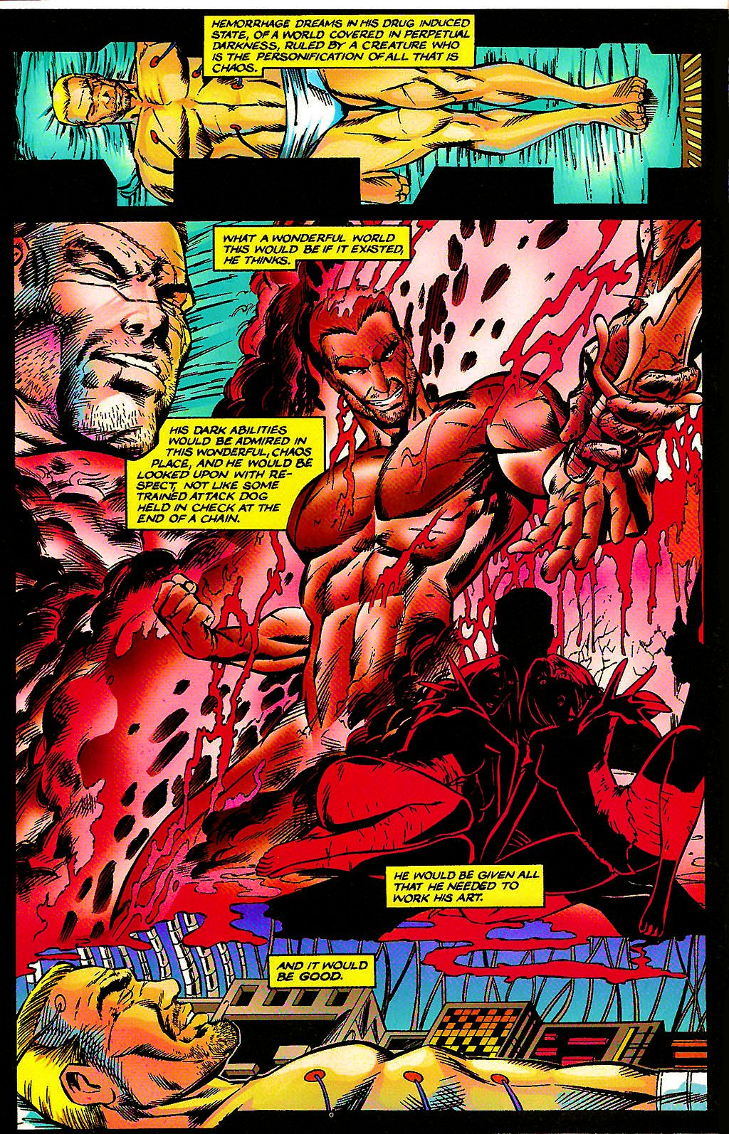 Read online Chains of Chaos comic -  Issue #3 - 8