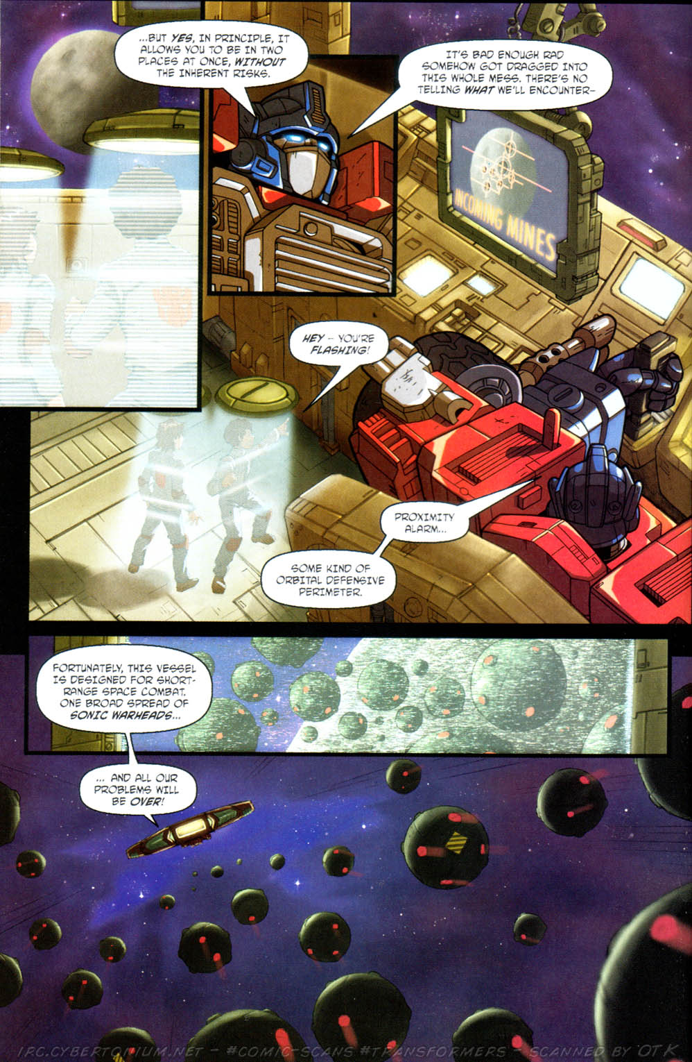 Read online Transformers Armada comic -  Issue #11 - 8