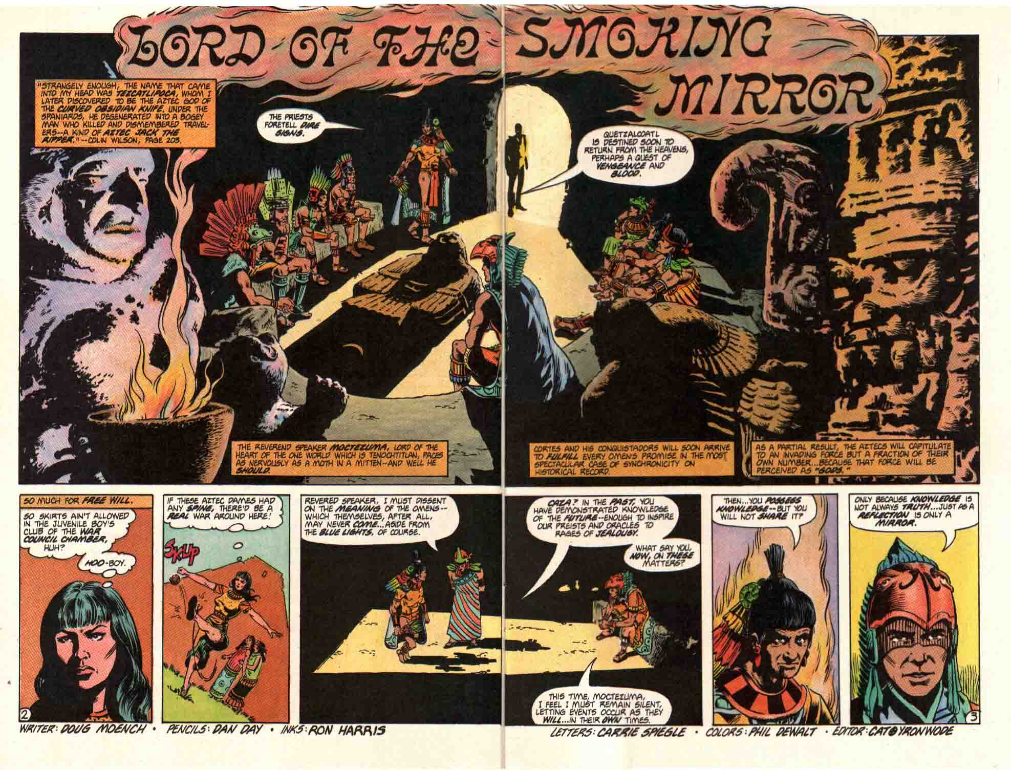 Read online Aztec Ace comic -  Issue #10 - 4