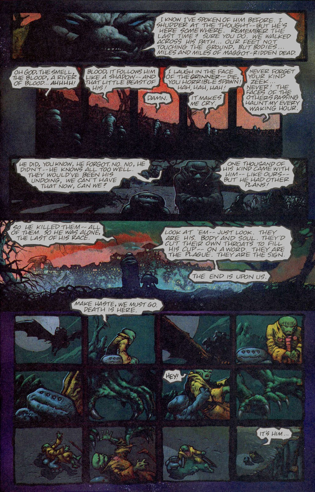 Read online Melting Pot comic -  Issue #1 - 19