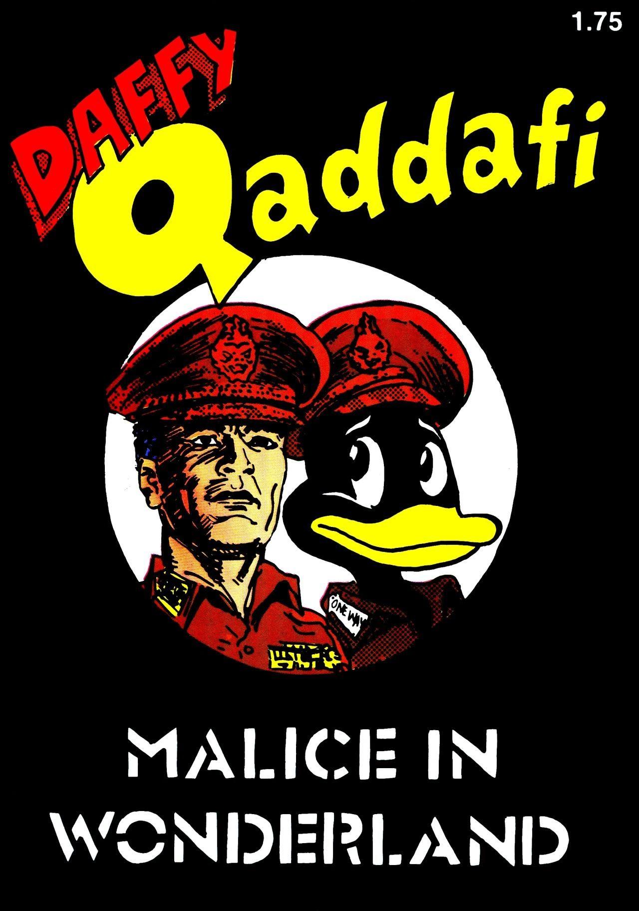 Daffy Qaddafi Full Page 1