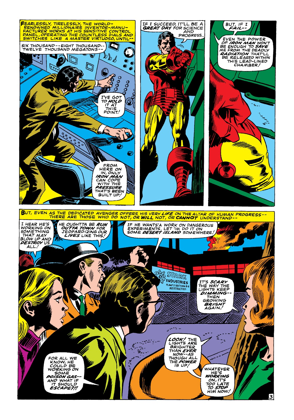 Read online Marvel Masterworks: The Invincible Iron Man comic -  Issue # TPB 4 (Part 1) - 48