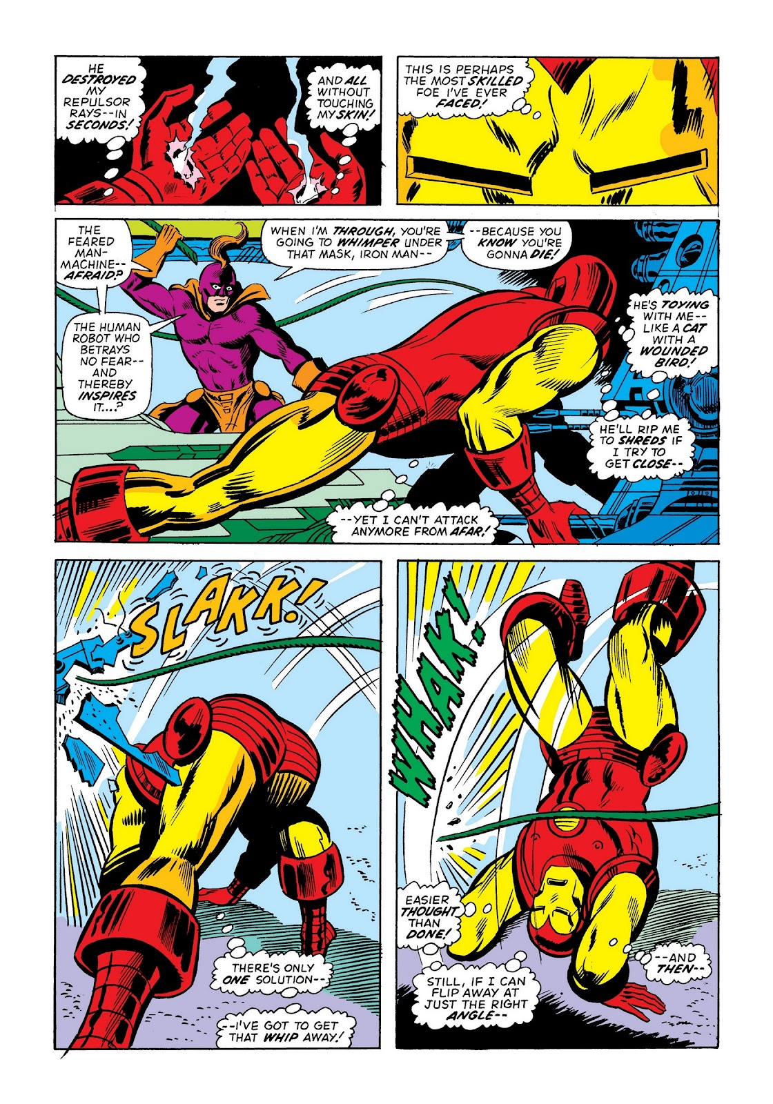 Read online Marvel Masterworks: The Invincible Iron Man comic -  Issue # TPB 9 (Part 2) - 85