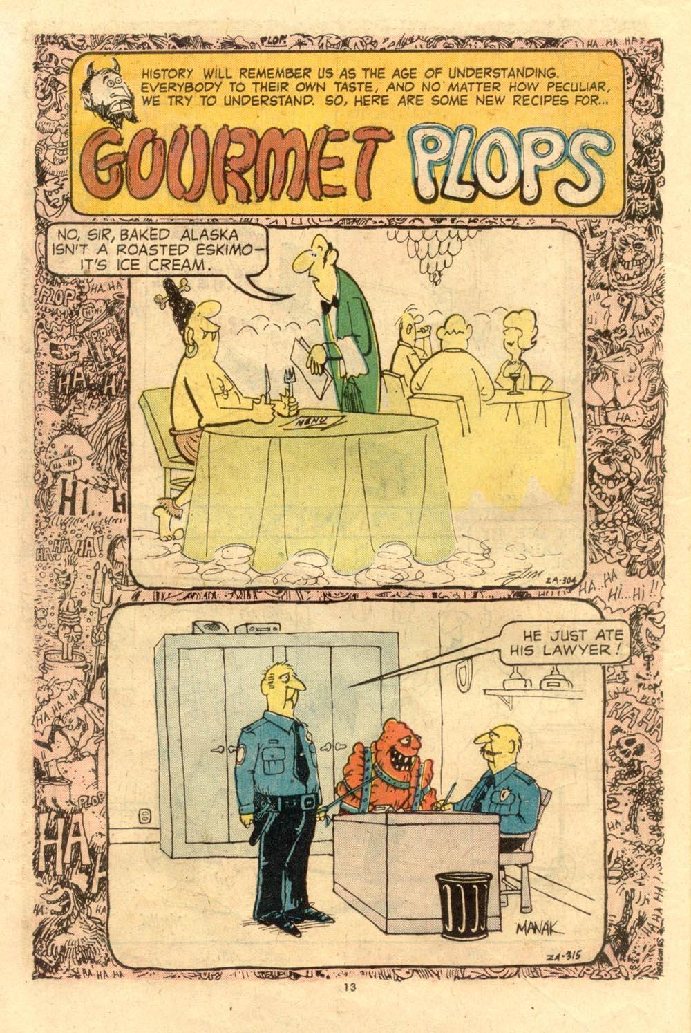 Read online Plop! comic -  Issue #7 - 14