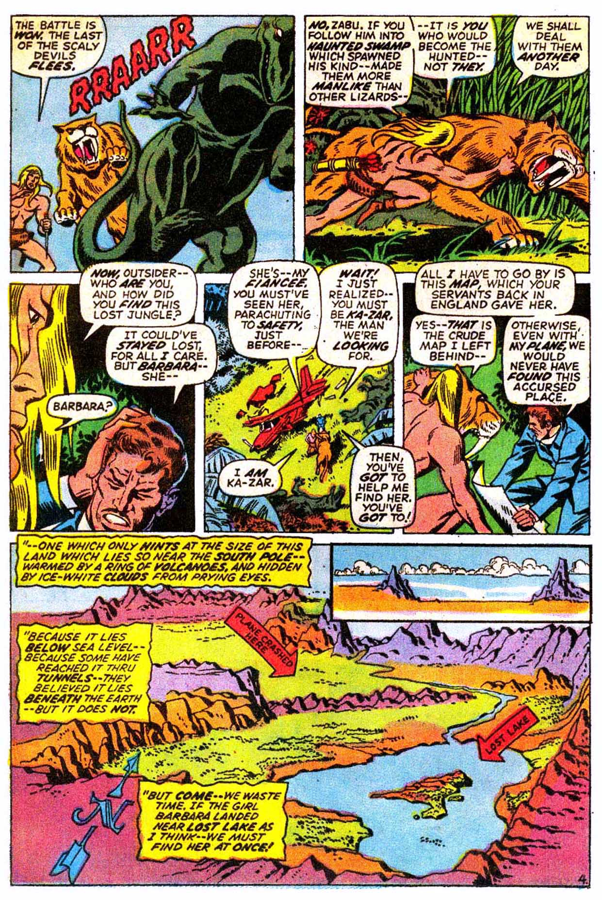 Read online Astonishing Tales (1970) comic -  Issue #8 - 5