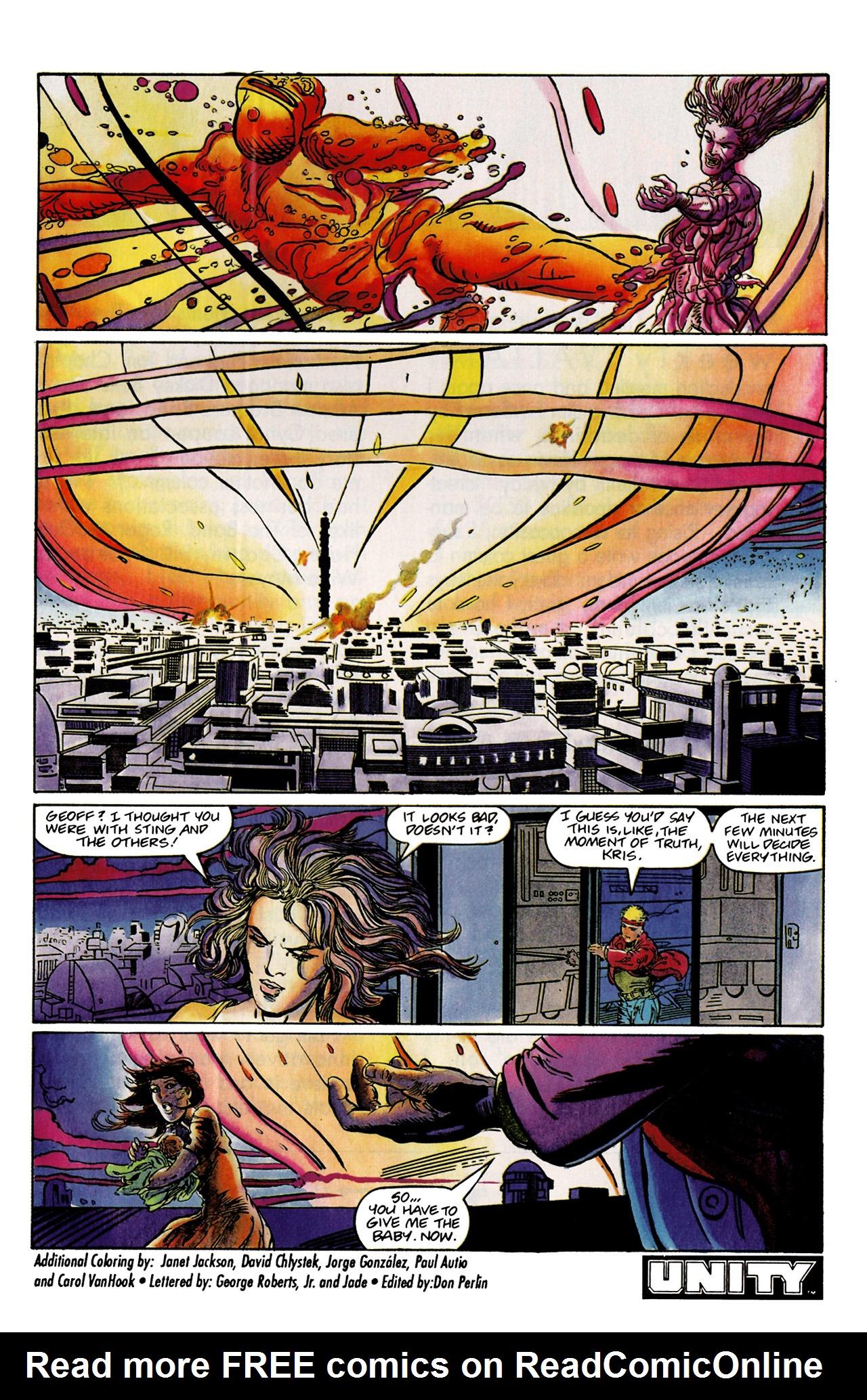 Read online Harbinger (1992) comic -  Issue #9 - 24
