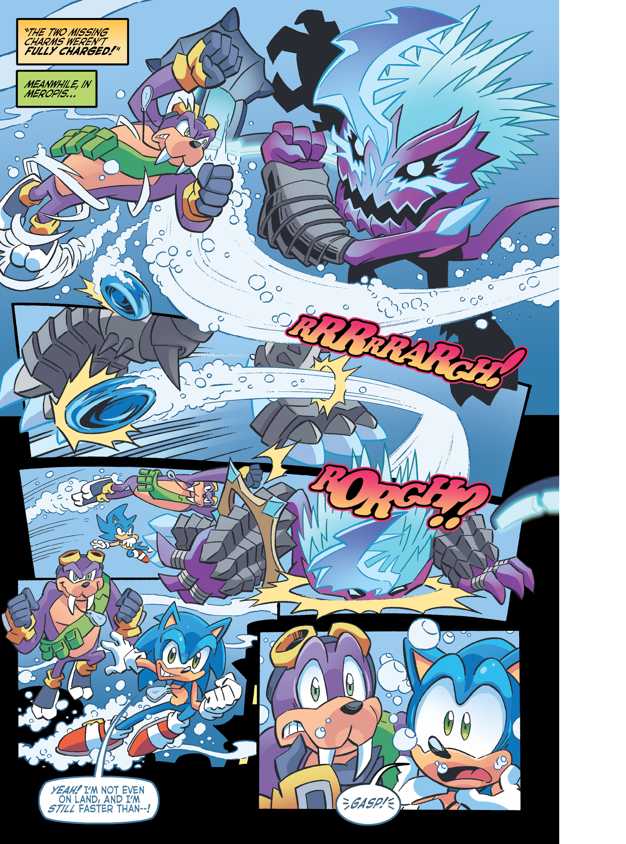 Read online Sonic Super Digest comic -  Issue #10 - 91