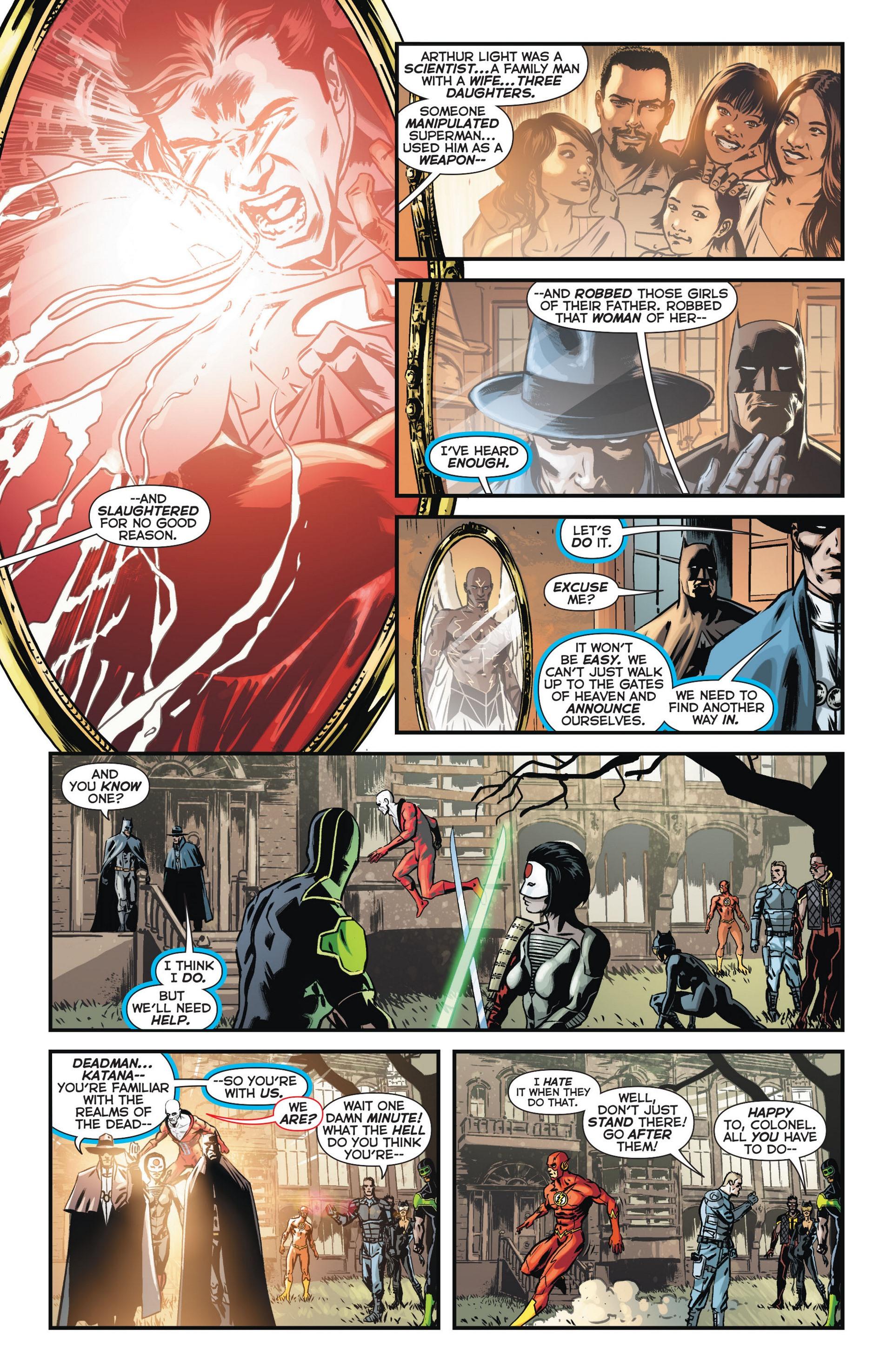 Read online Trinity of Sin: The Phantom Stranger comic -  Issue #11 - 8