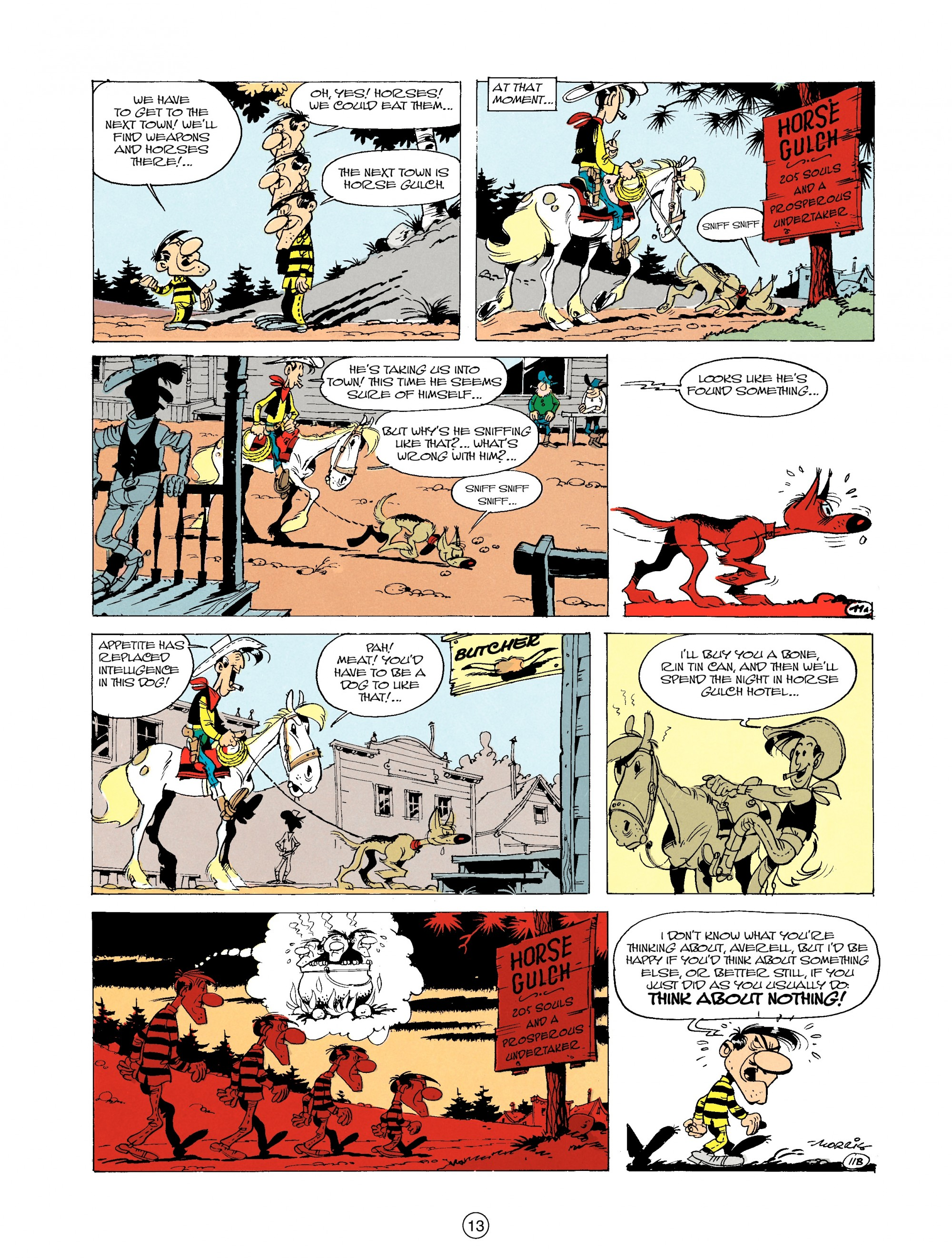 Read online A Lucky Luke Adventure comic -  Issue #19 - 13