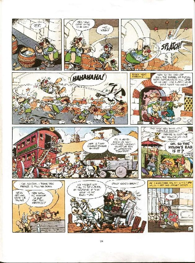 Read online Asterix comic -  Issue #8 - 21