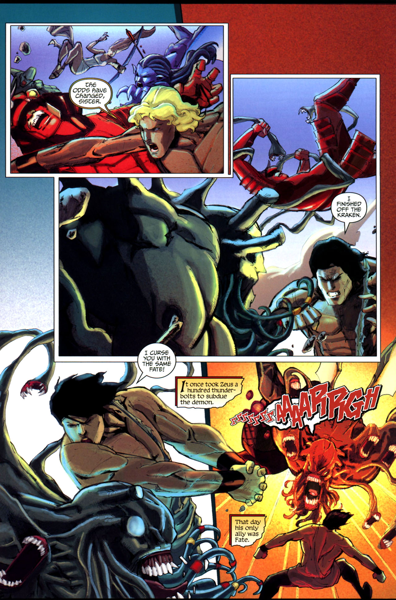 Read online Wrath of the Titans comic -  Issue #3 - 20