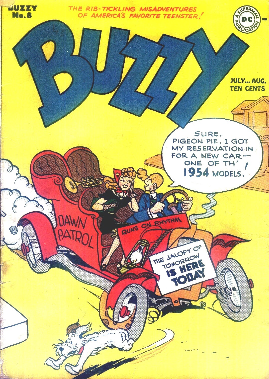 Buzzy issue 8 - Page 1