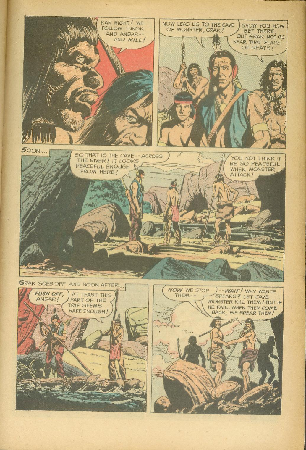 Read online Turok, Son of Stone comic -  Issue #24 - 29