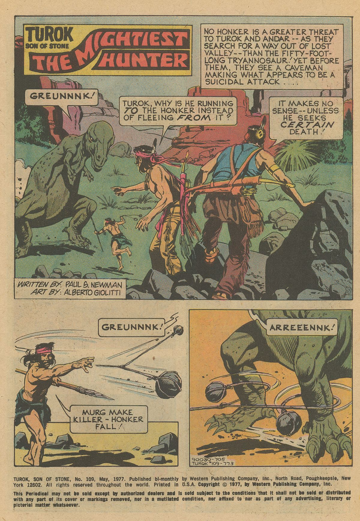 Read online Turok, Son of Stone comic -  Issue #109 - 3