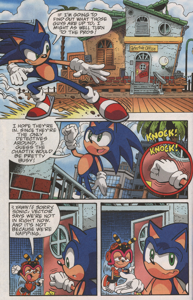Read online Sonic X comic -  Issue #38 - 24