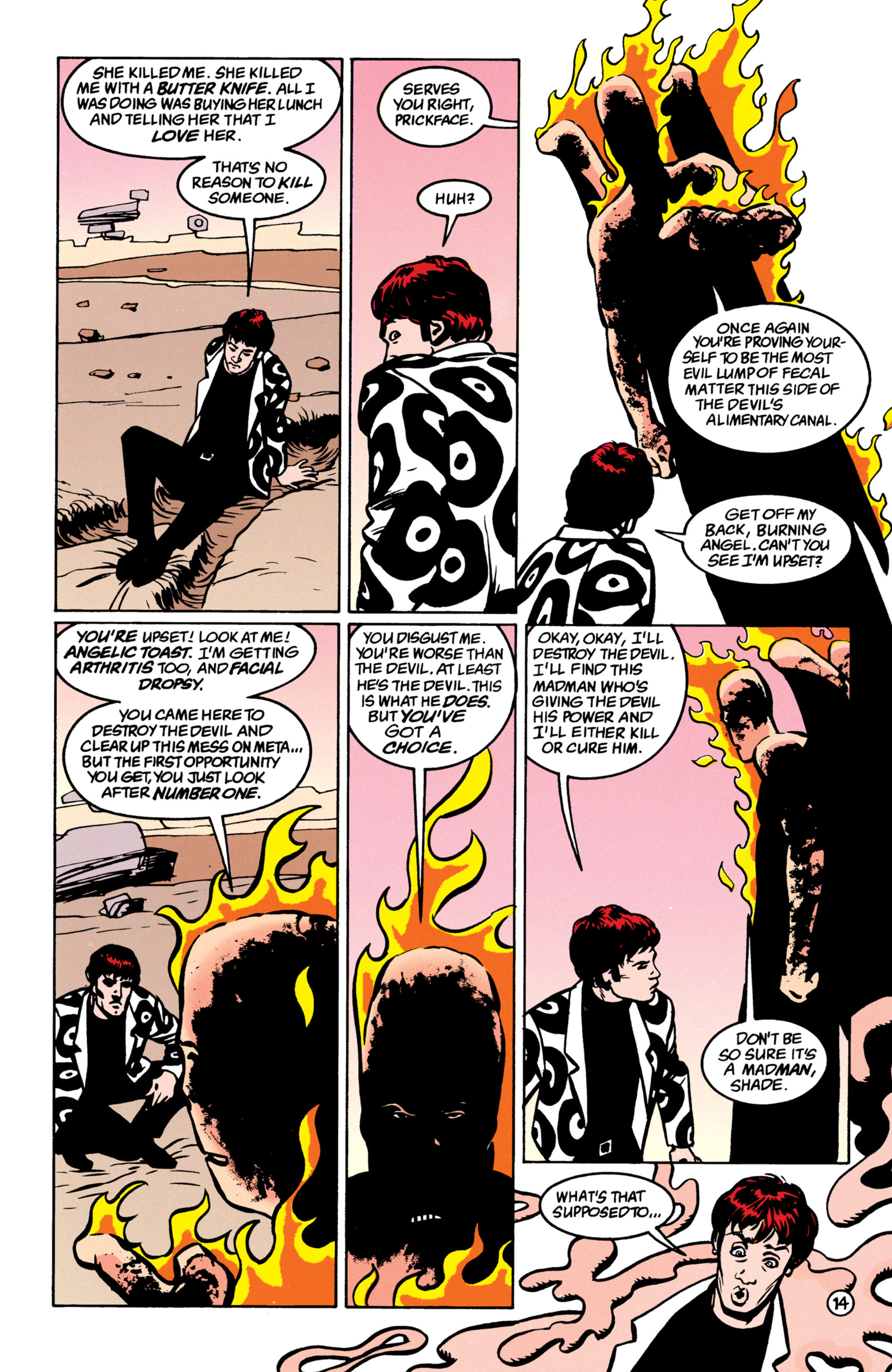Read online Shade, the Changing Man comic -  Issue #52 - 15