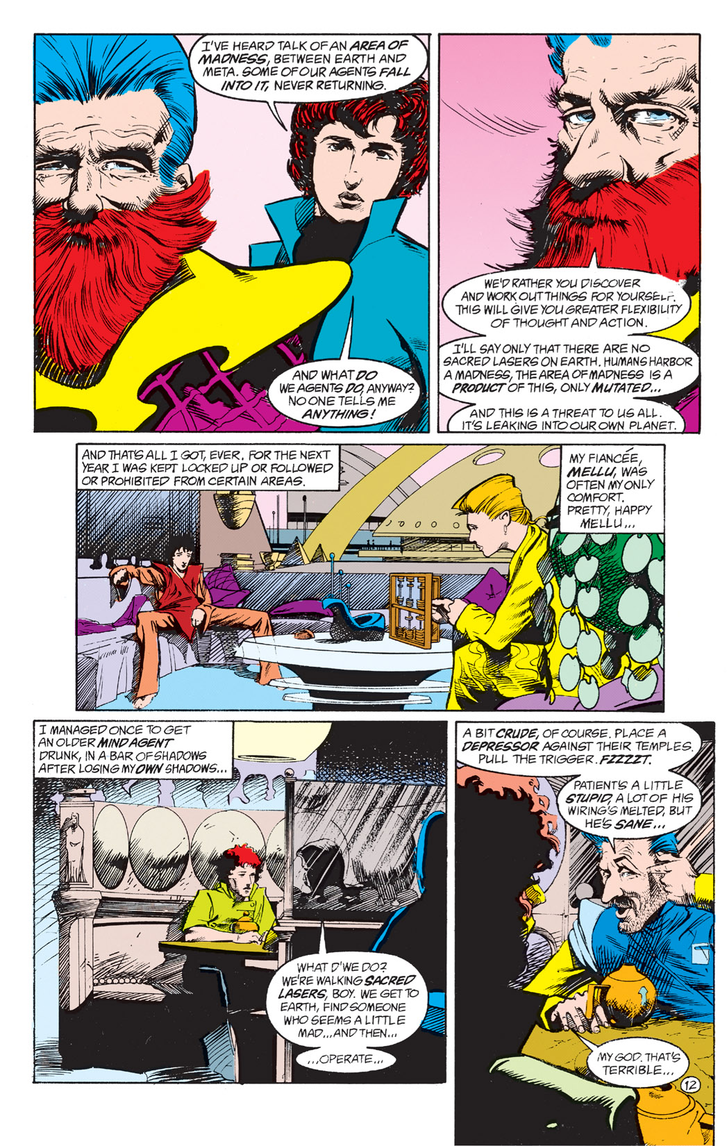 Read online Shade, the Changing Man comic -  Issue #4 - 14