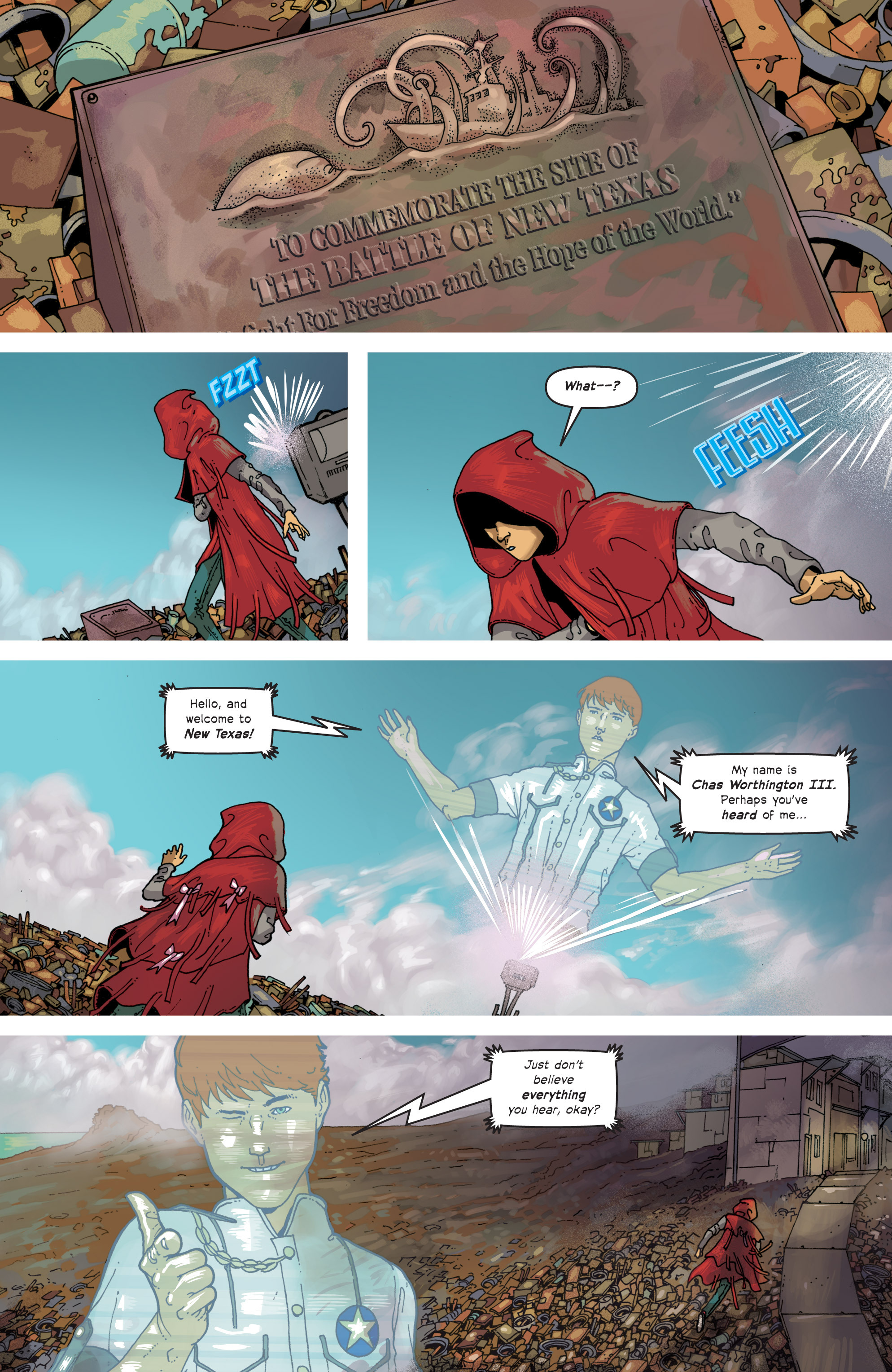 Read online Great Pacific comic -  Issue #7 - 5