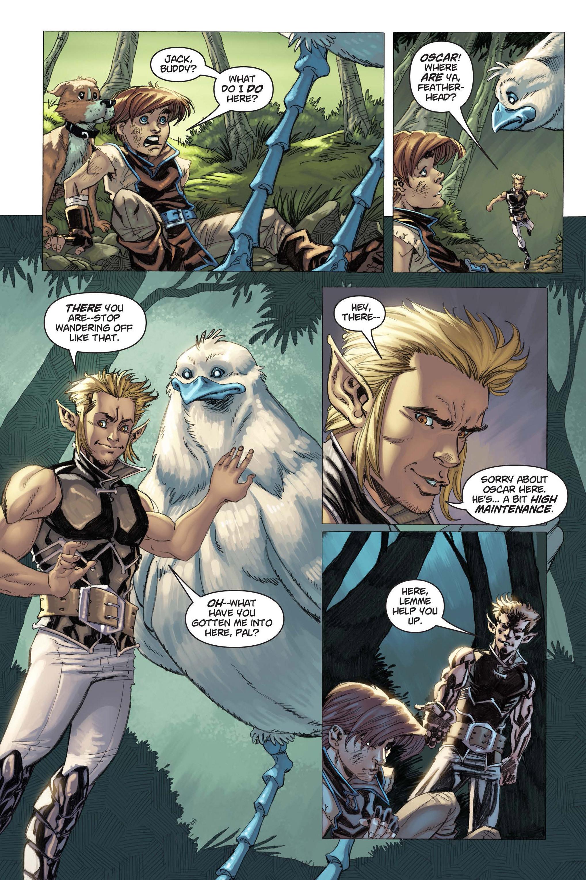Read online Skyward comic -  Issue #3 - 16