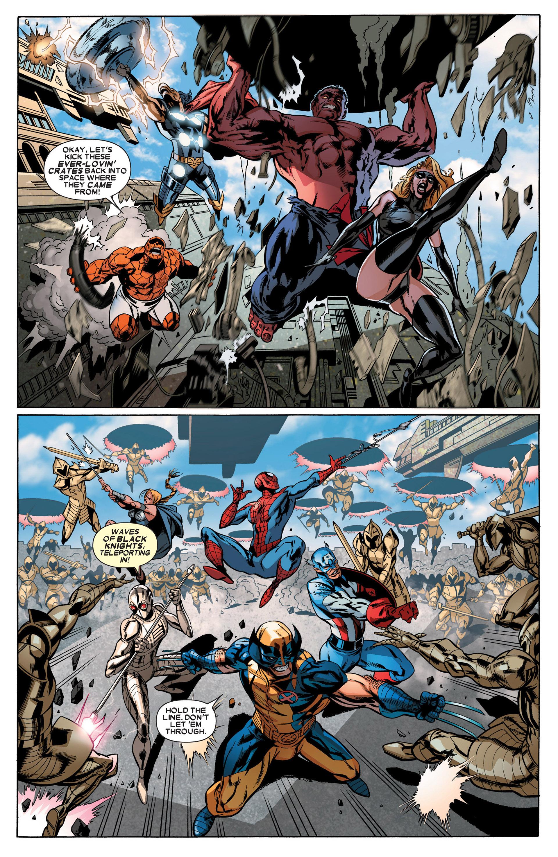 Read online Annihilators: Earthfall comic -  Issue #3 - 16