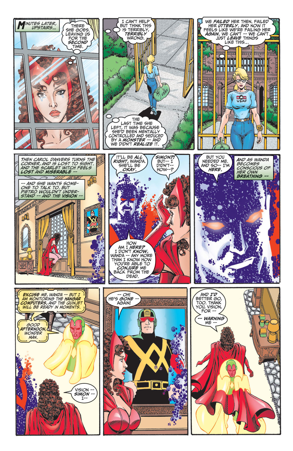 Read online Avengers (1998) comic -  Issue #7 - 9