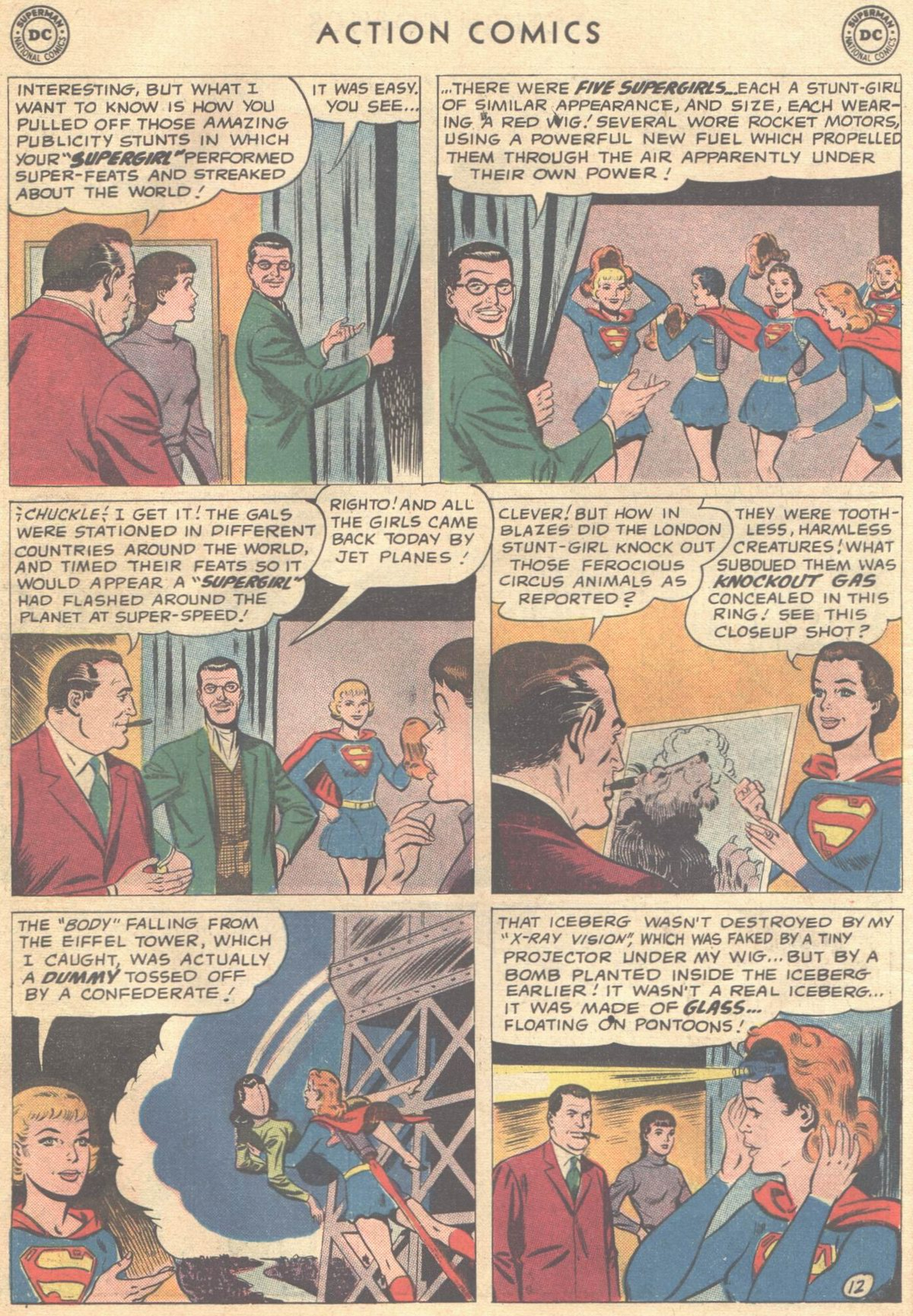 Read online Action Comics (1938) comic -  Issue #268 - 30