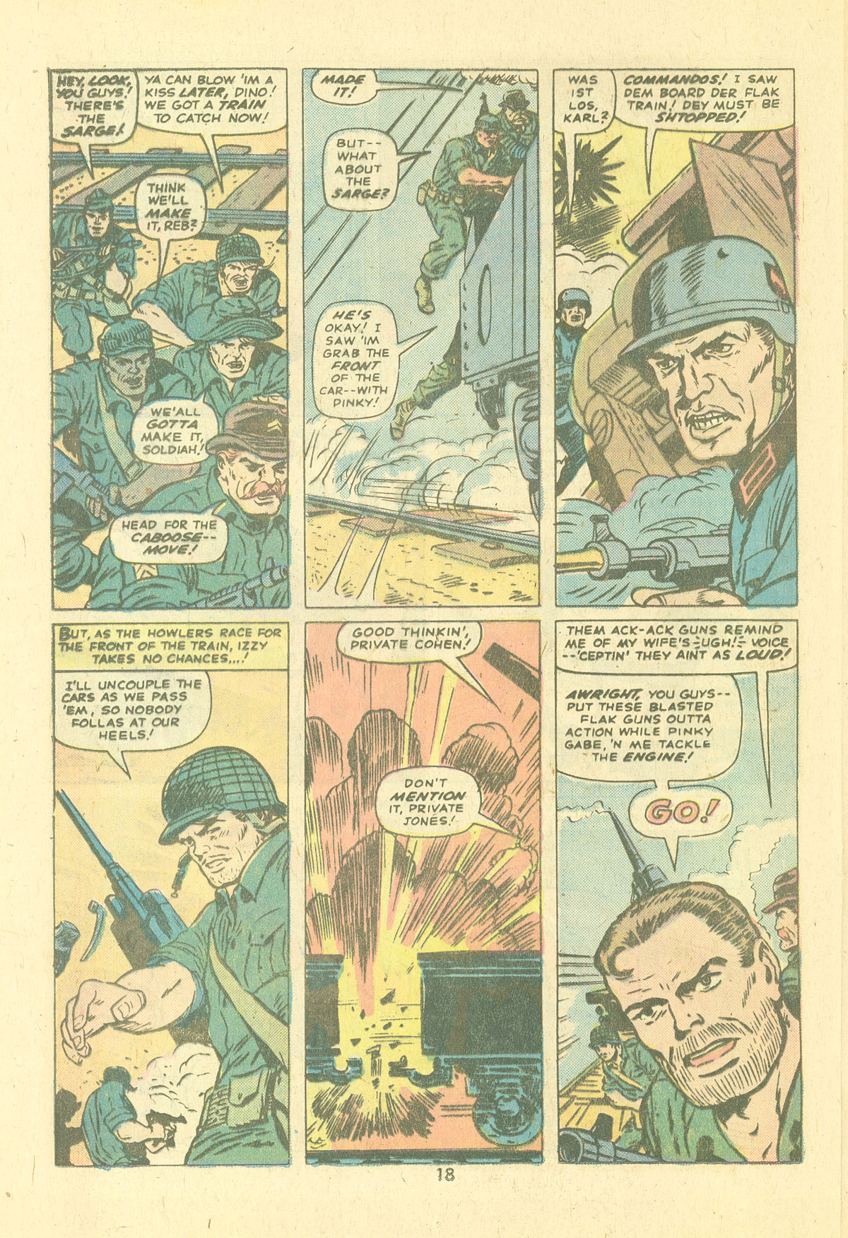 Read online Sgt. Fury comic -  Issue #124 - 20