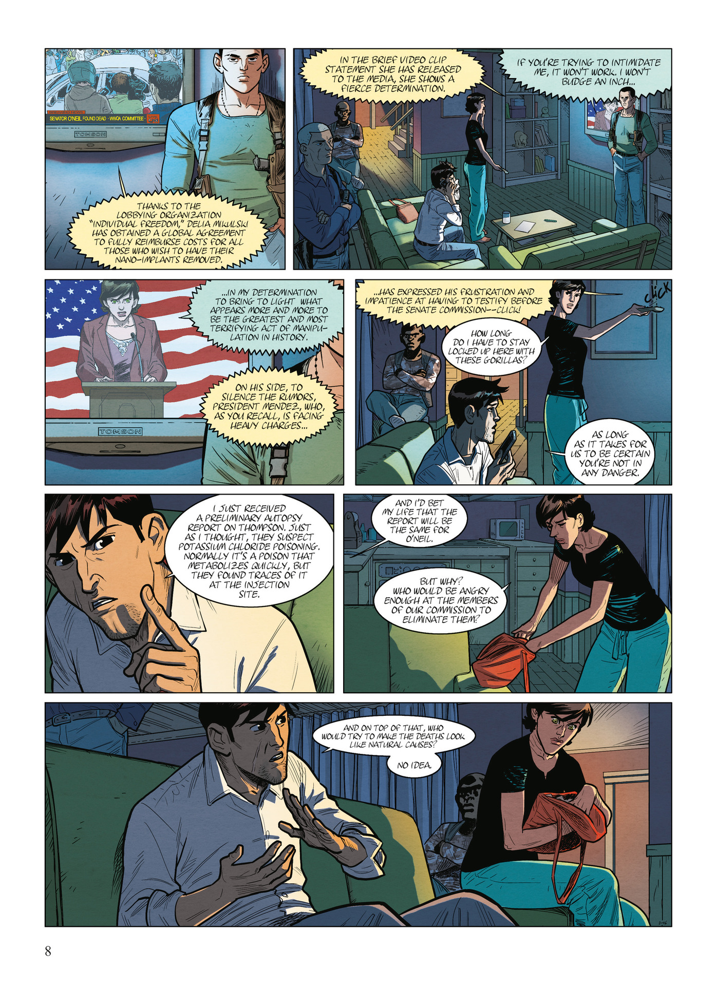 Read online Alter Ego comic -  Issue #9 - 10