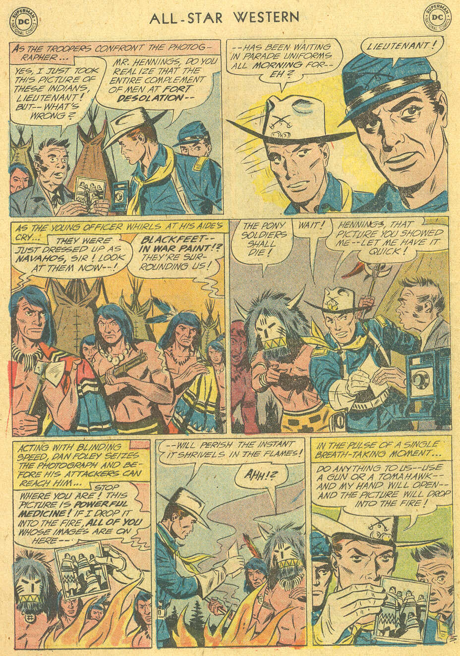 Read online All-Star Western (1951) comic -  Issue #114 - 18
