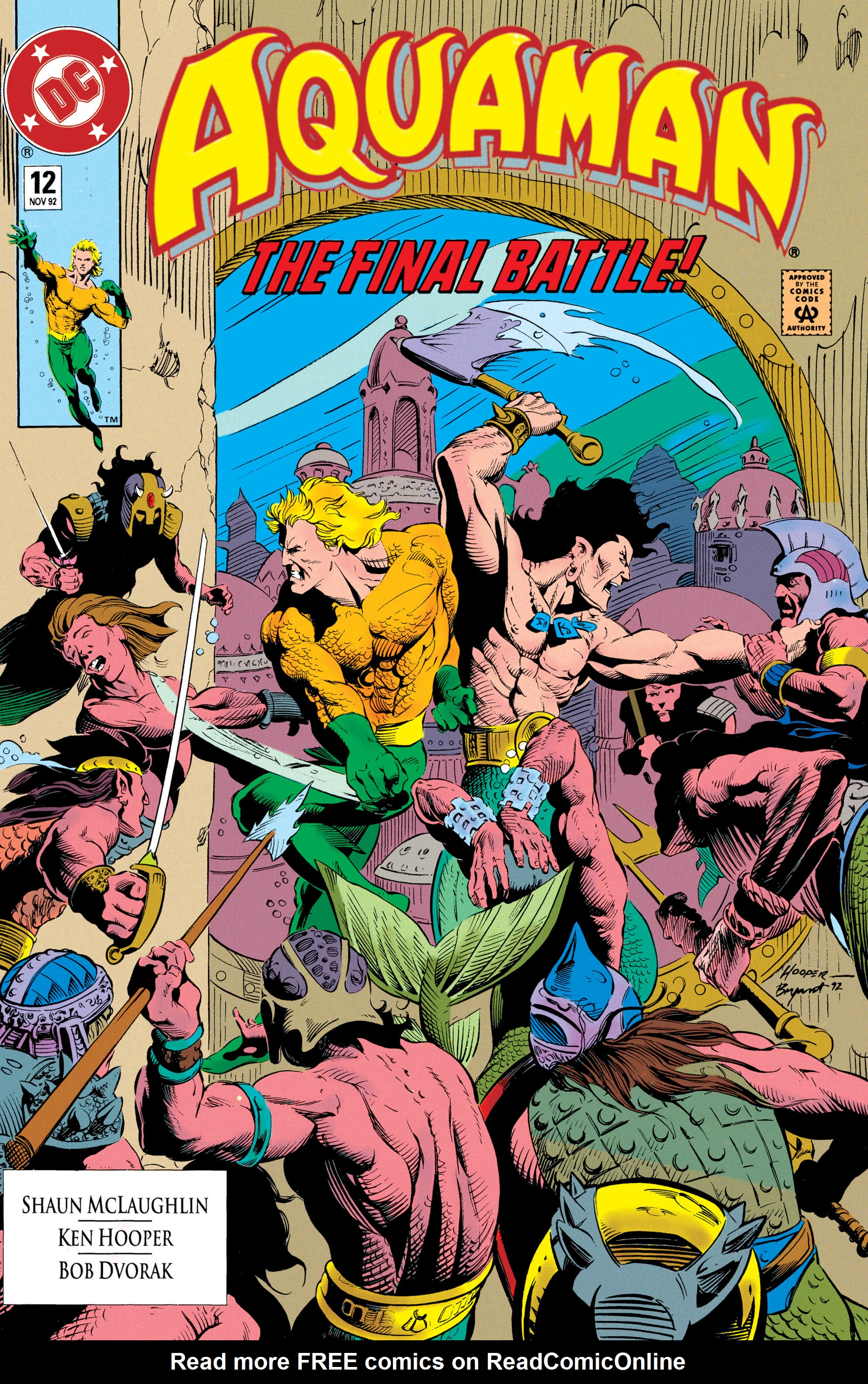 Read online Aquaman (1991) comic -  Issue #12 - 1