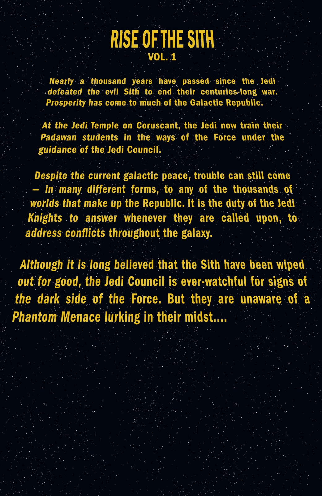 Read online Star Wars Legends: Rise of the Sith - Epic Collection comic -  Issue # TPB 1 (Part 1) - 5