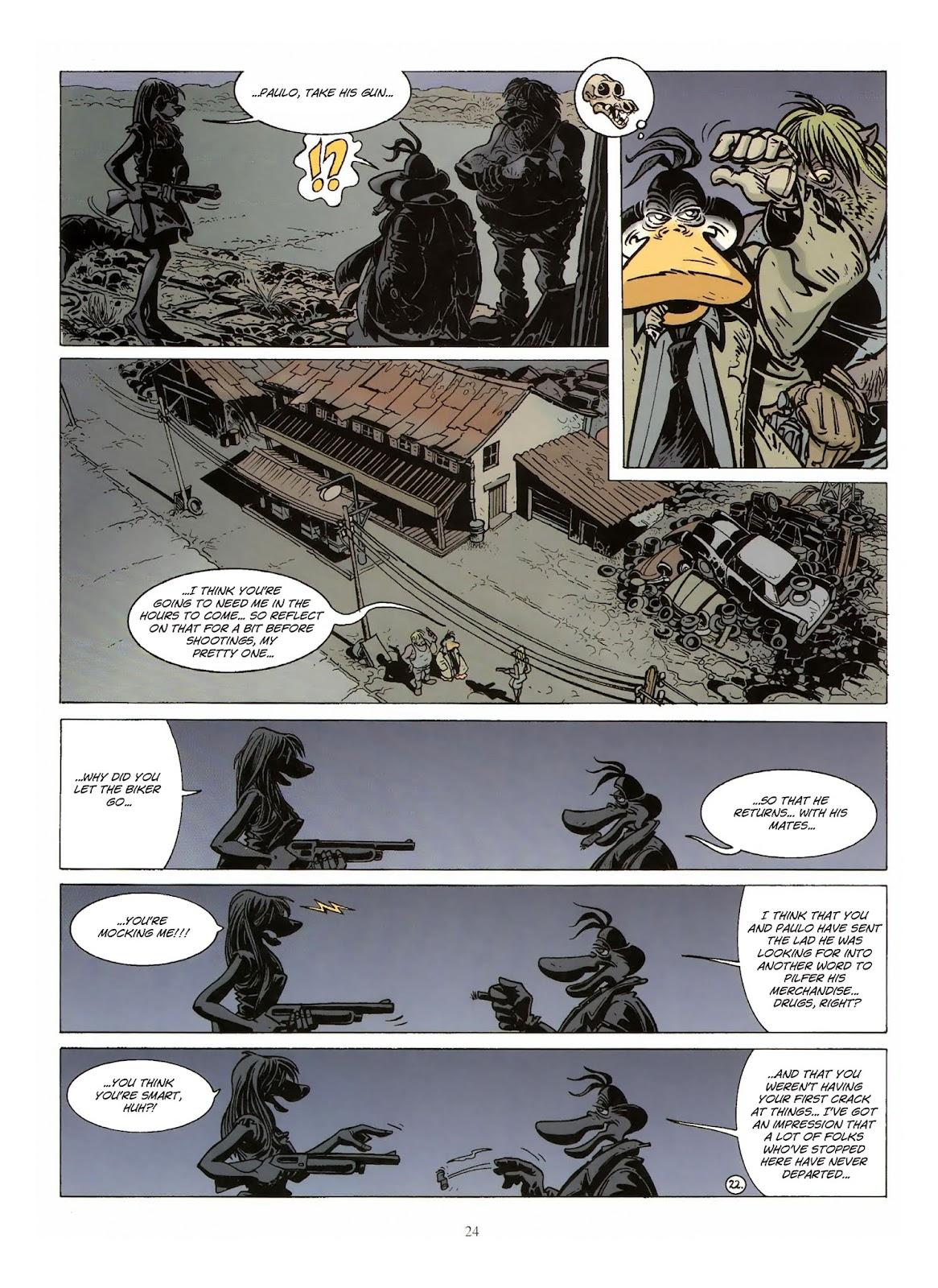 Une enquête de l'inspecteur Canardo issue 10 - Page 25