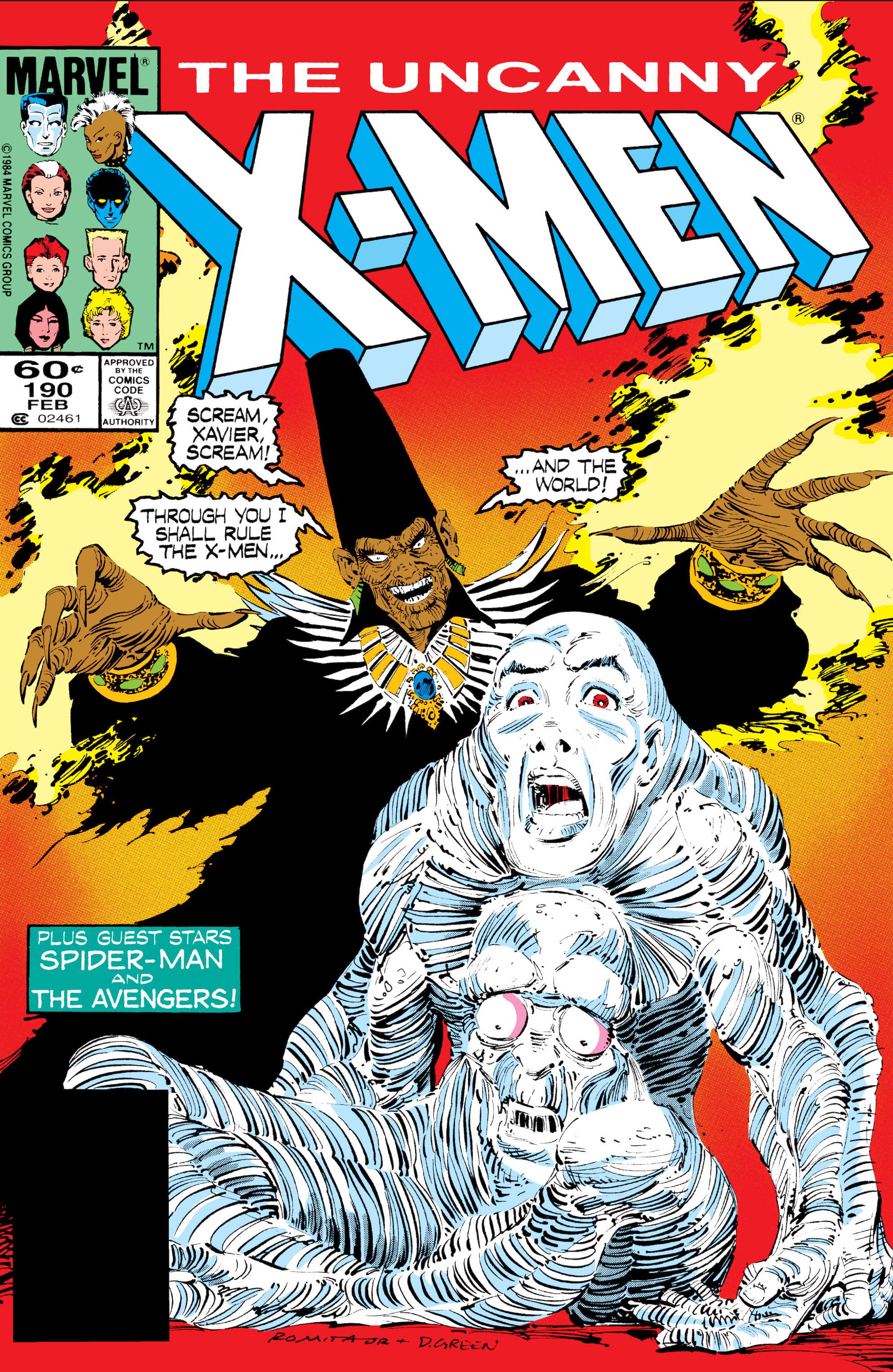 Read online Uncanny X-Men (1963) comic -  Issue #190 - 1