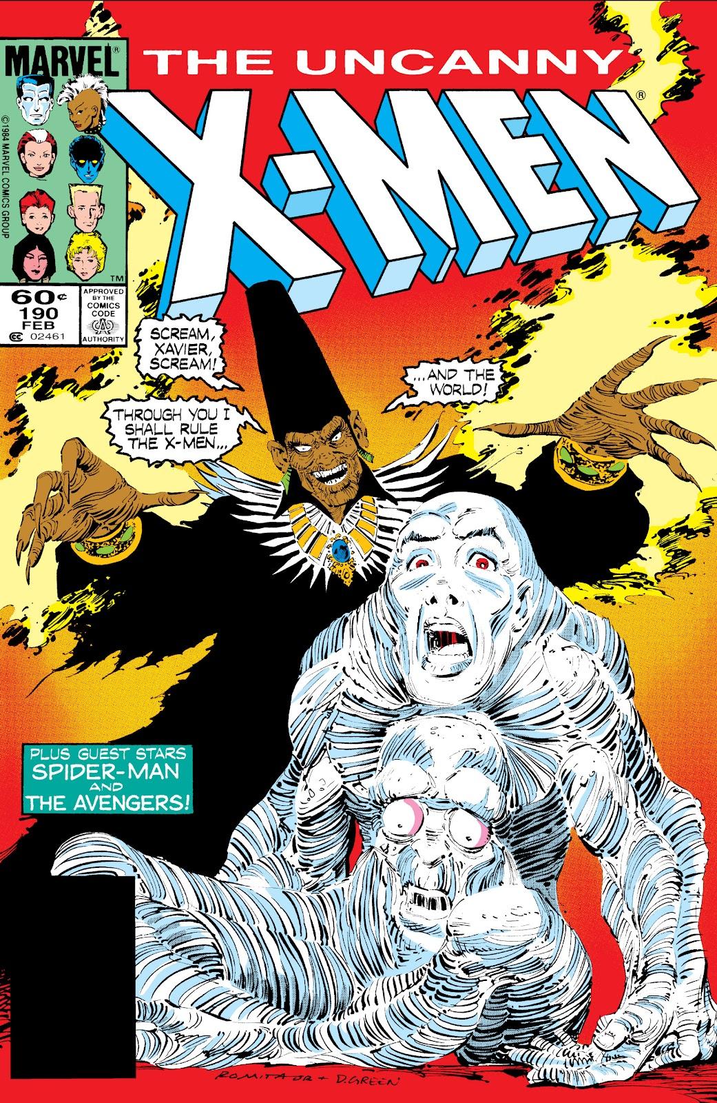 Uncanny X-Men (1963) 190 Page 1