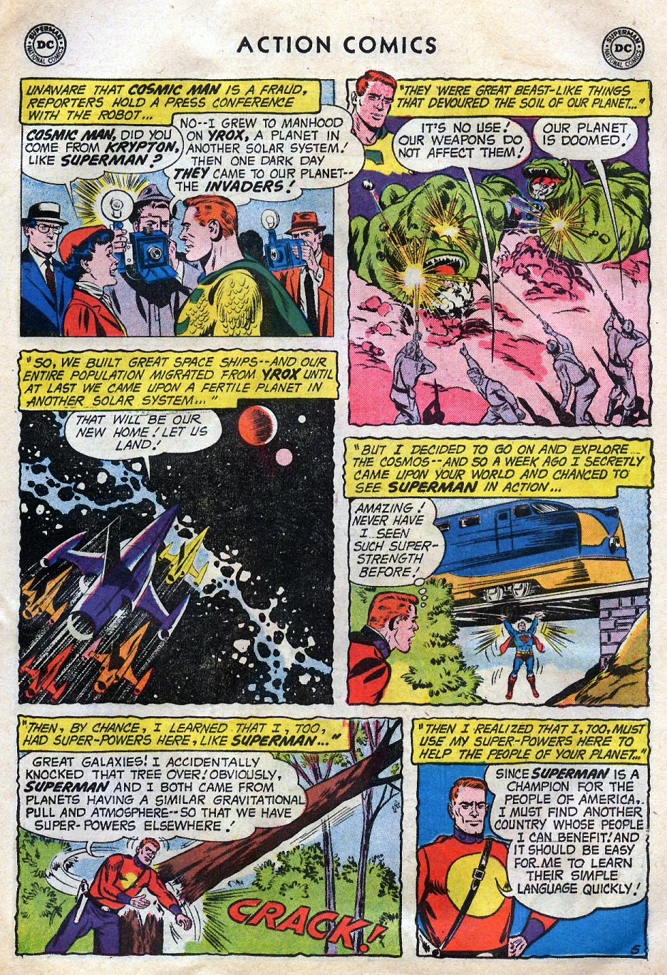 Read online Action Comics (1938) comic -  Issue #258 - 7