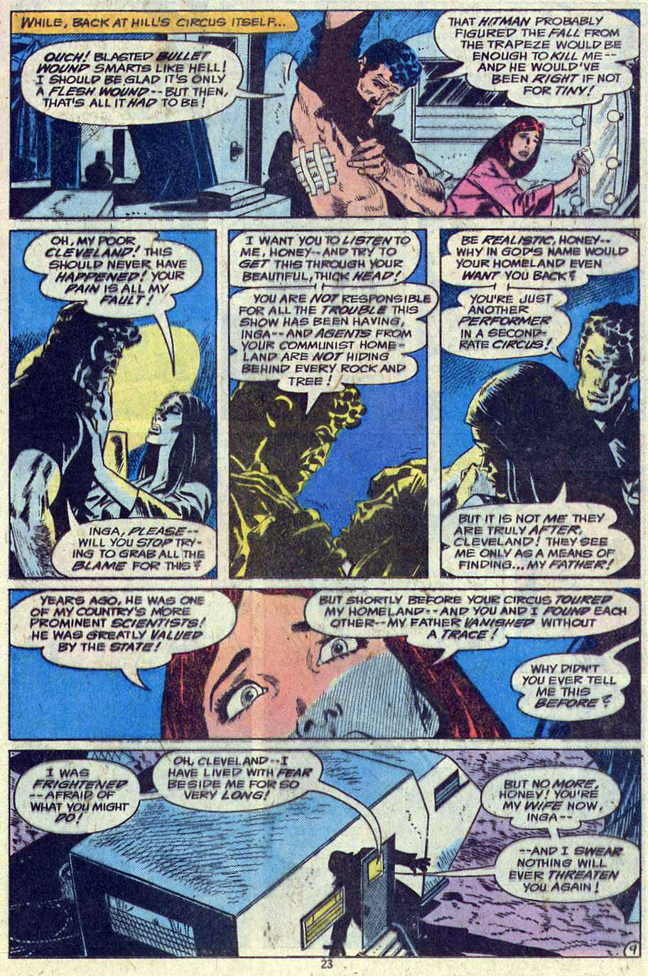 Read online Adventure Comics (1938) comic -  Issue #461 - 23
