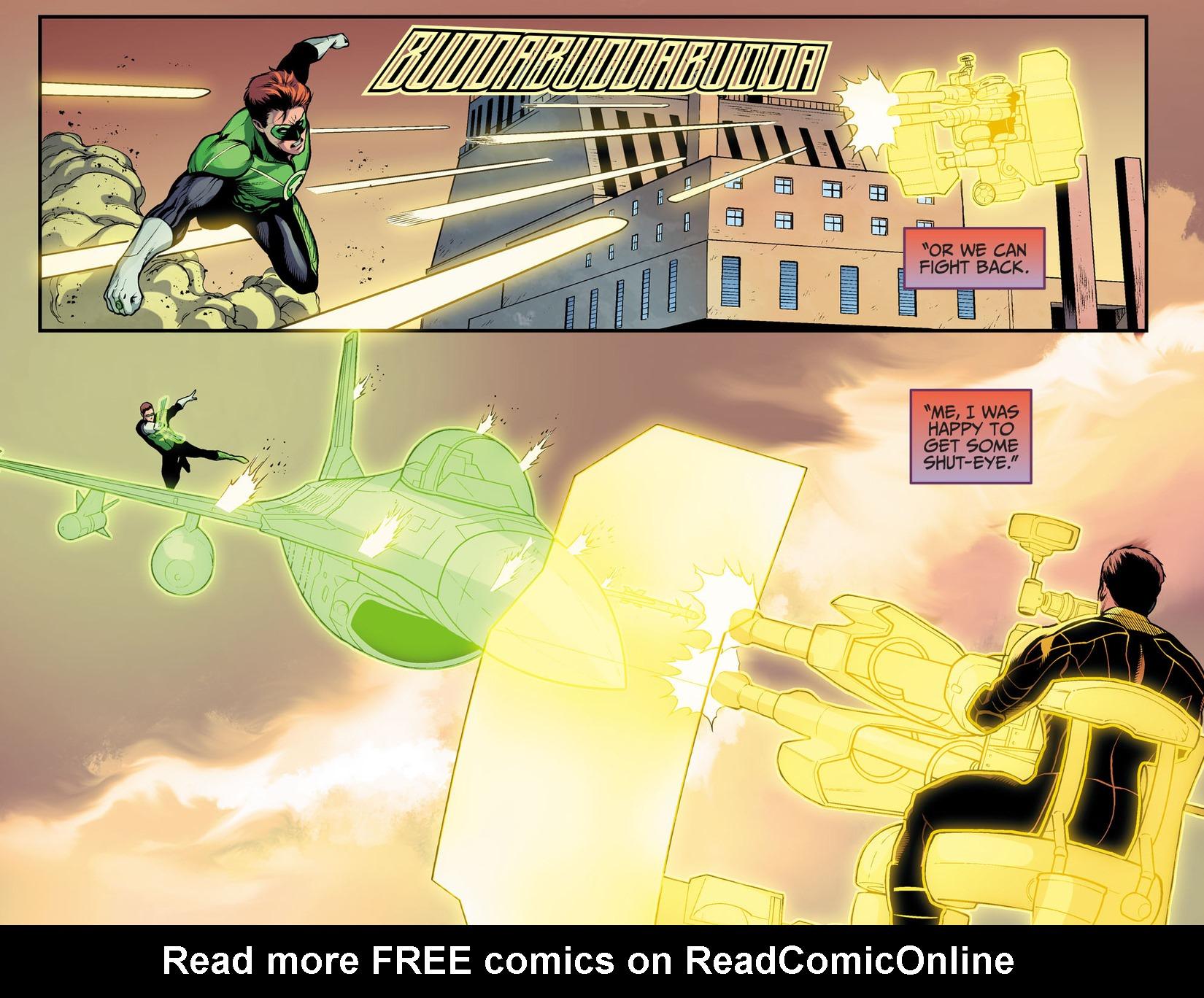 Read online Injustice: Ground Zero comic -  Issue #17 - 18