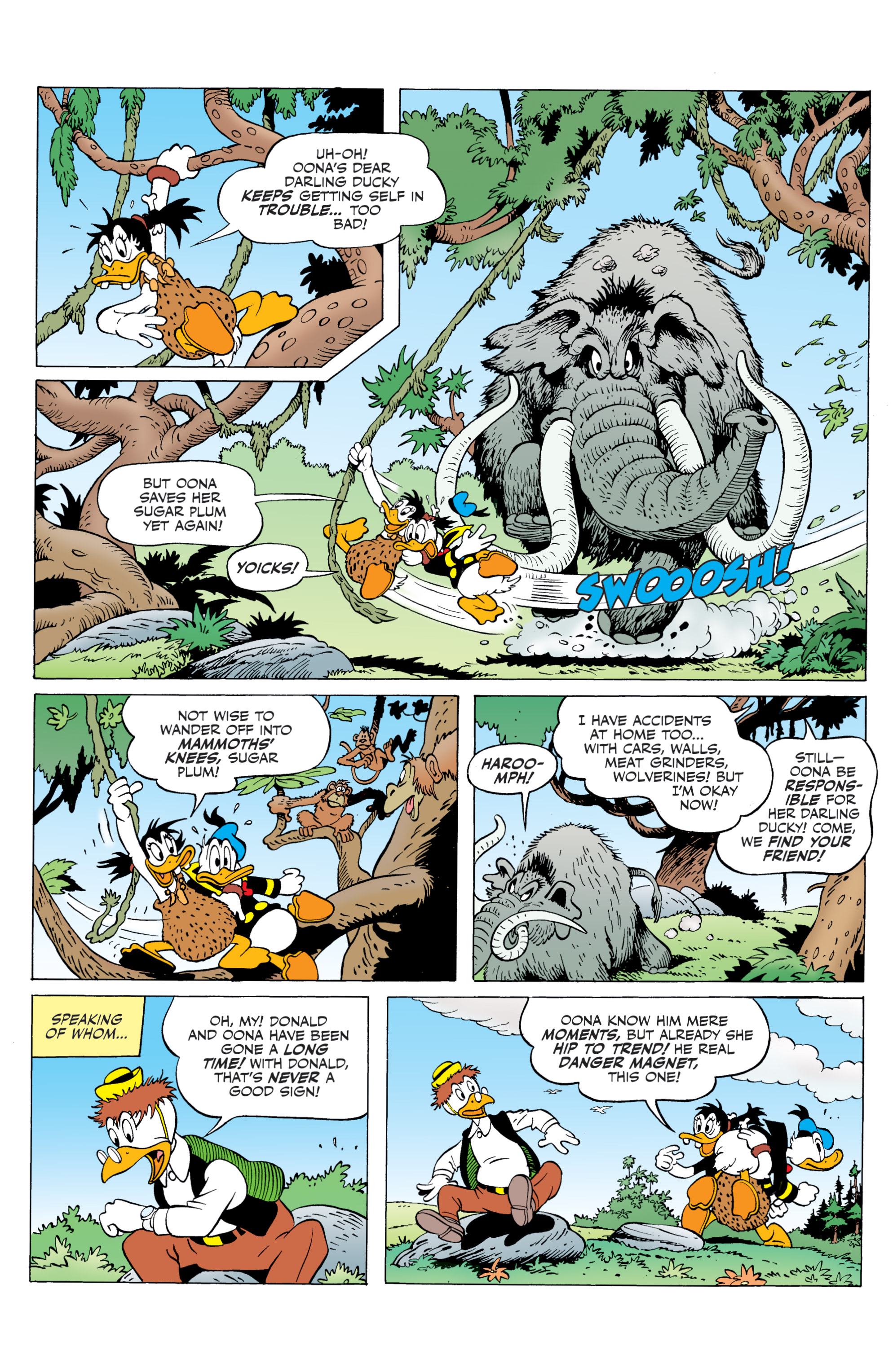 Read online Donald Duck (2015) comic -  Issue #20 - 31