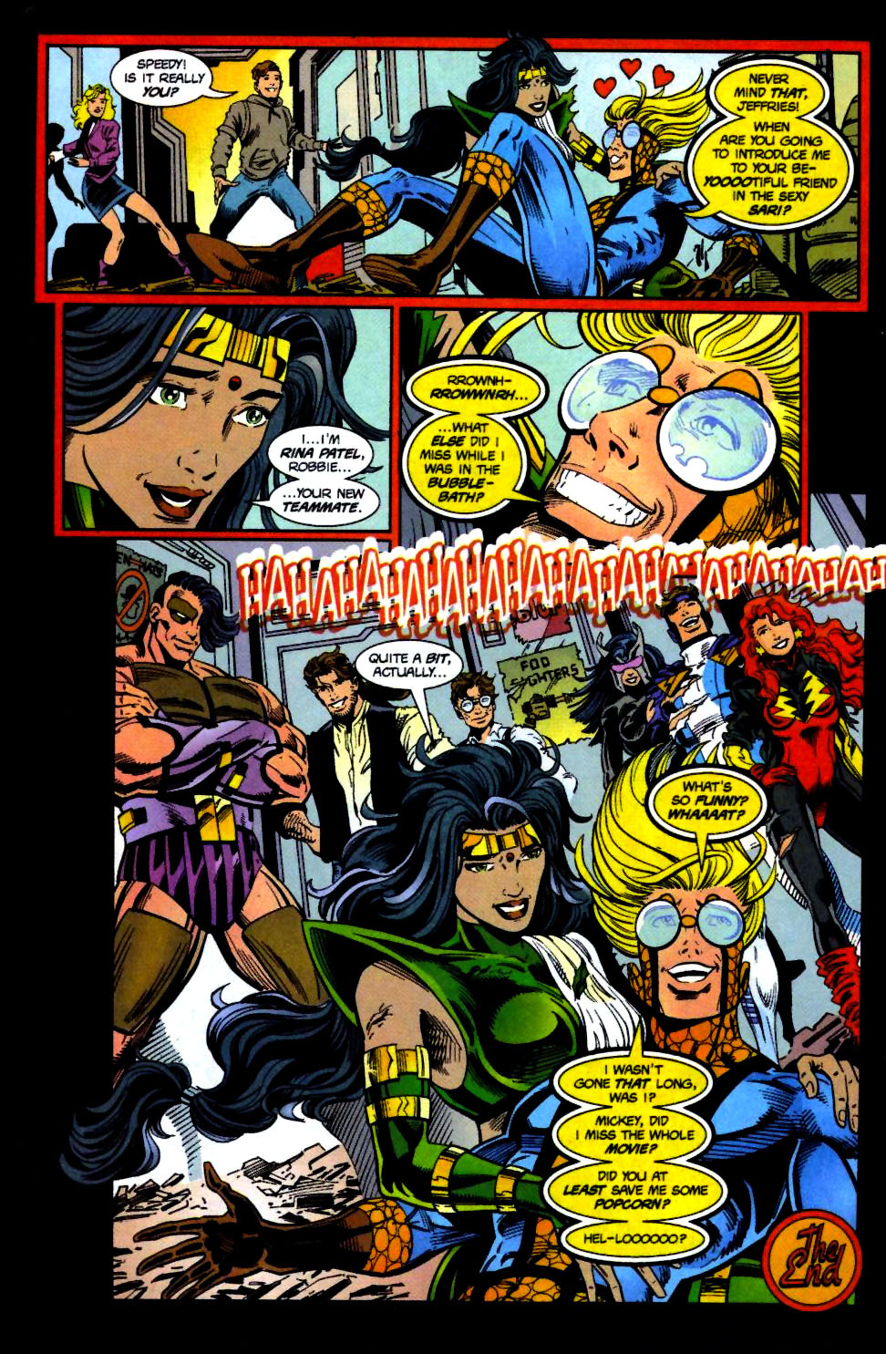 The New Warriors Issue #71 #75 - English 24