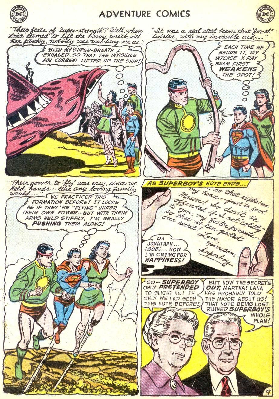 Read online Adventure Comics (1938) comic -  Issue #218 - 11