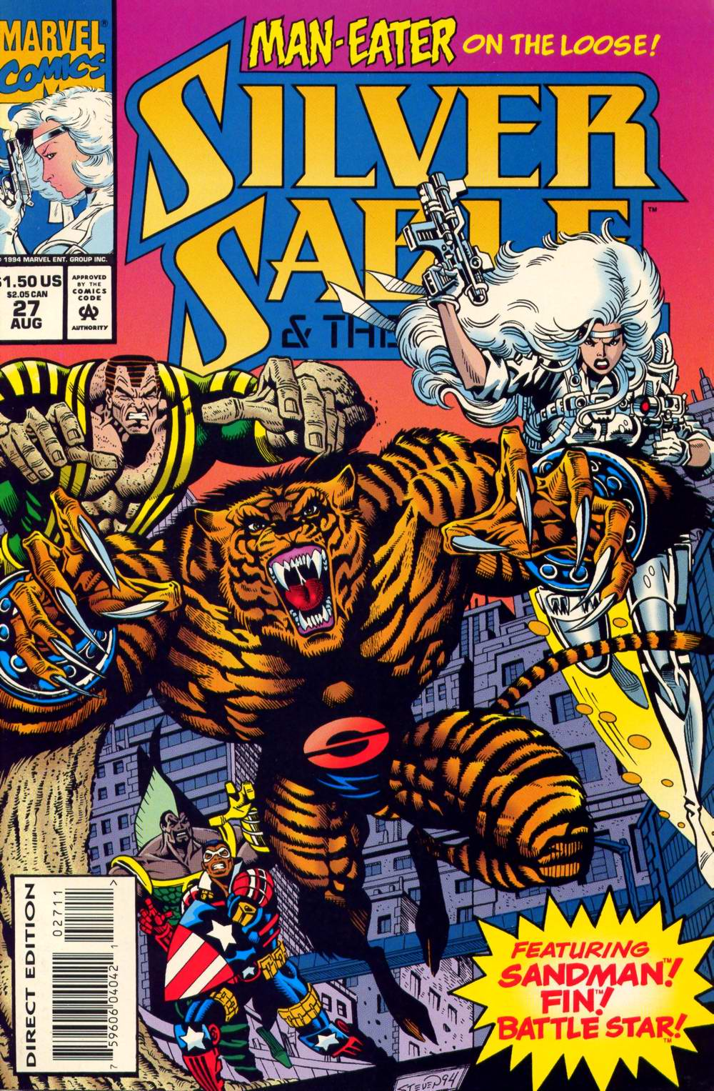 Read online Silver Sable and the Wild Pack comic -  Issue #27 - 1